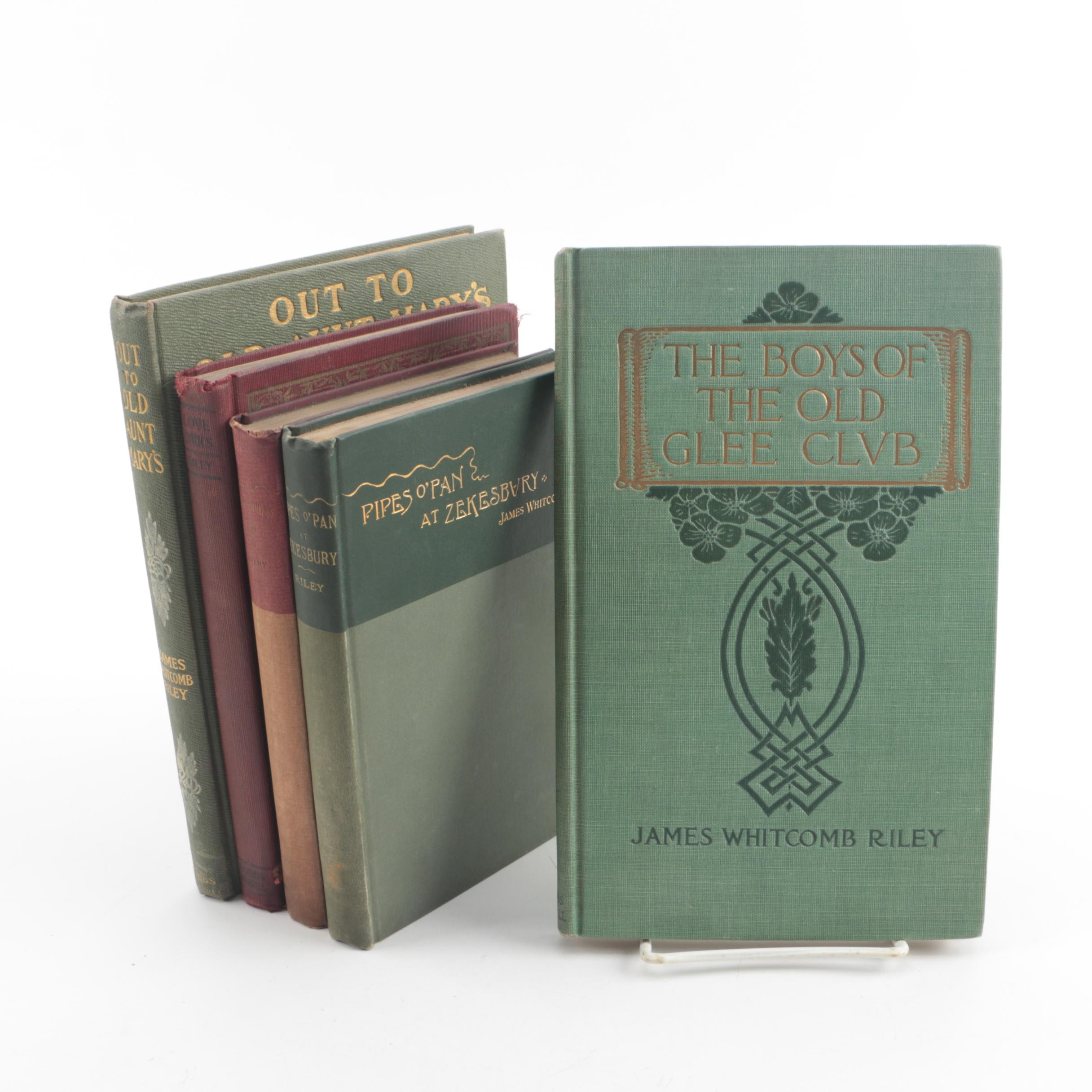 Vintage and Antique Books by James Whitcomb Riley