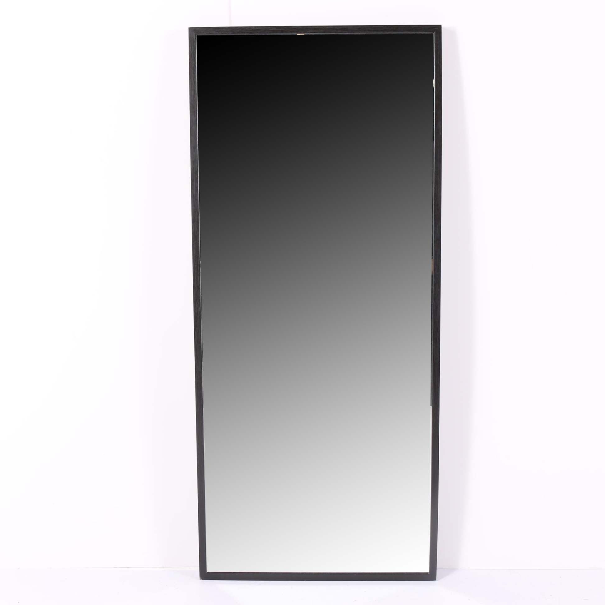 Contemporary Full Length Wall Mount Mirror ...