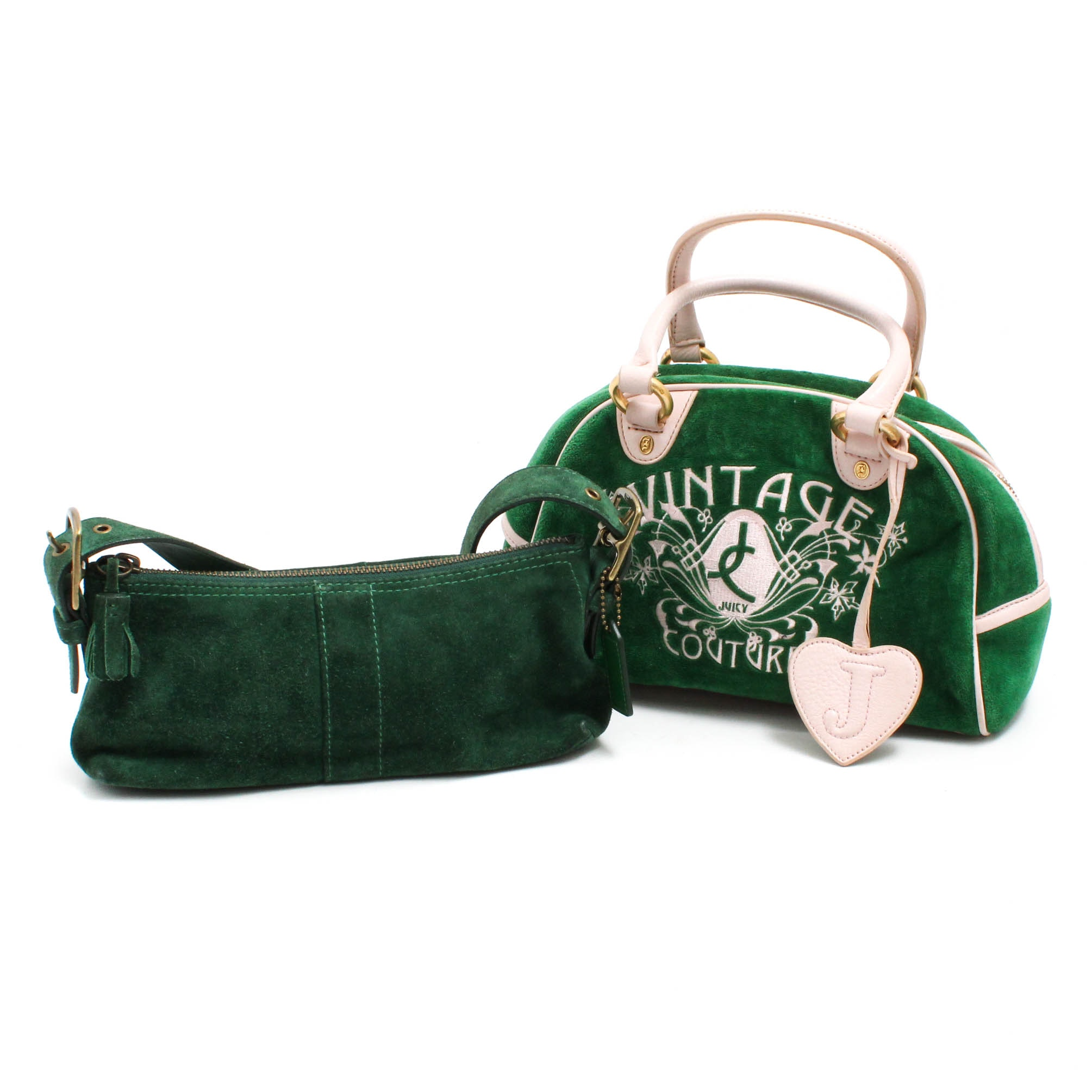 Juicy Couture and Coach Handbags