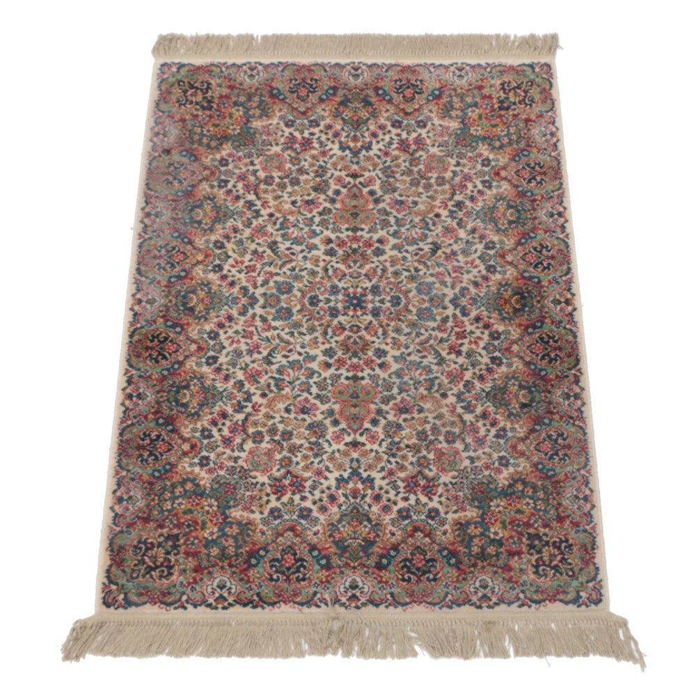 "Power Loomed Karastan ""Floral Kirman"" Area Rug"