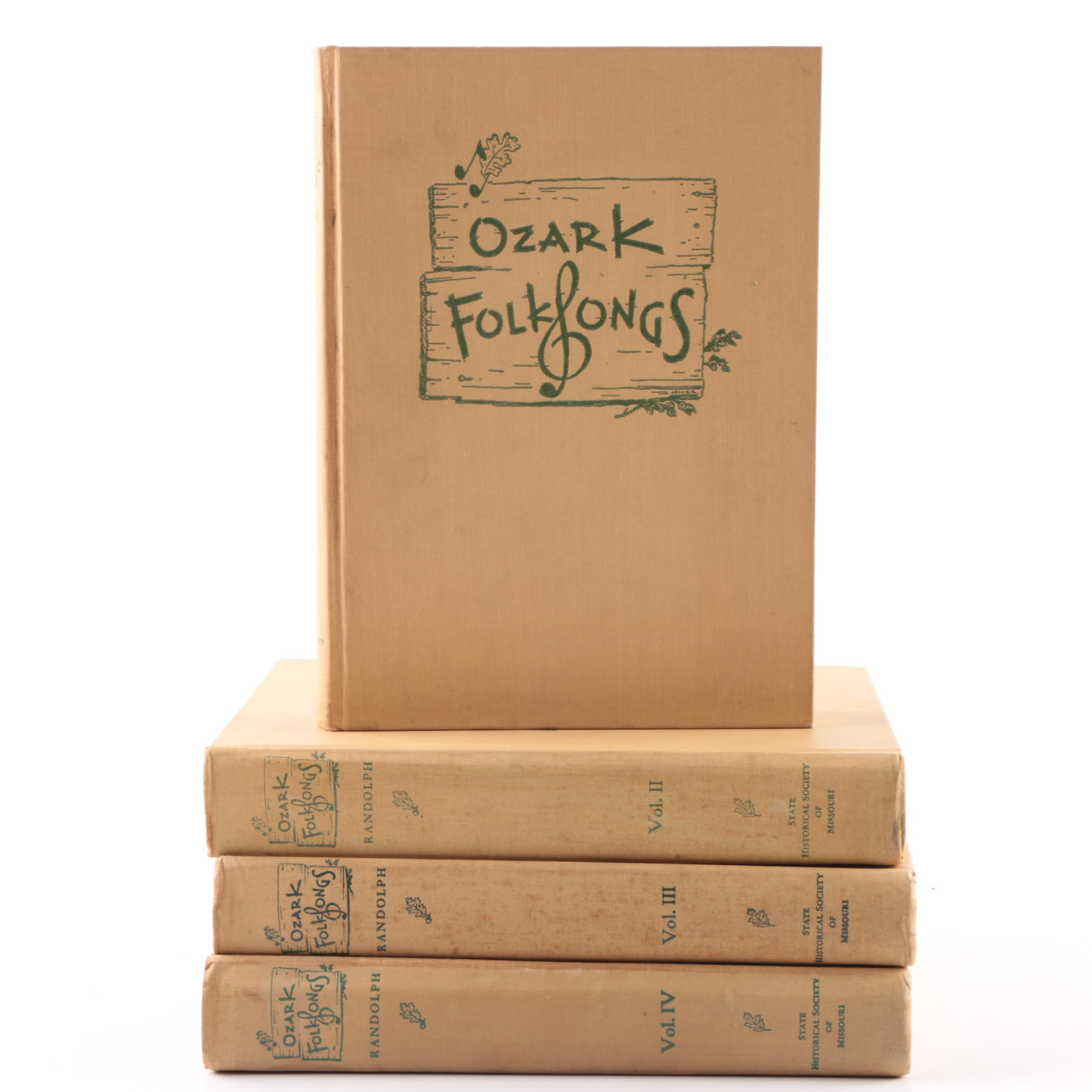 """Ozark Folk Songs"" Music Anthologies"