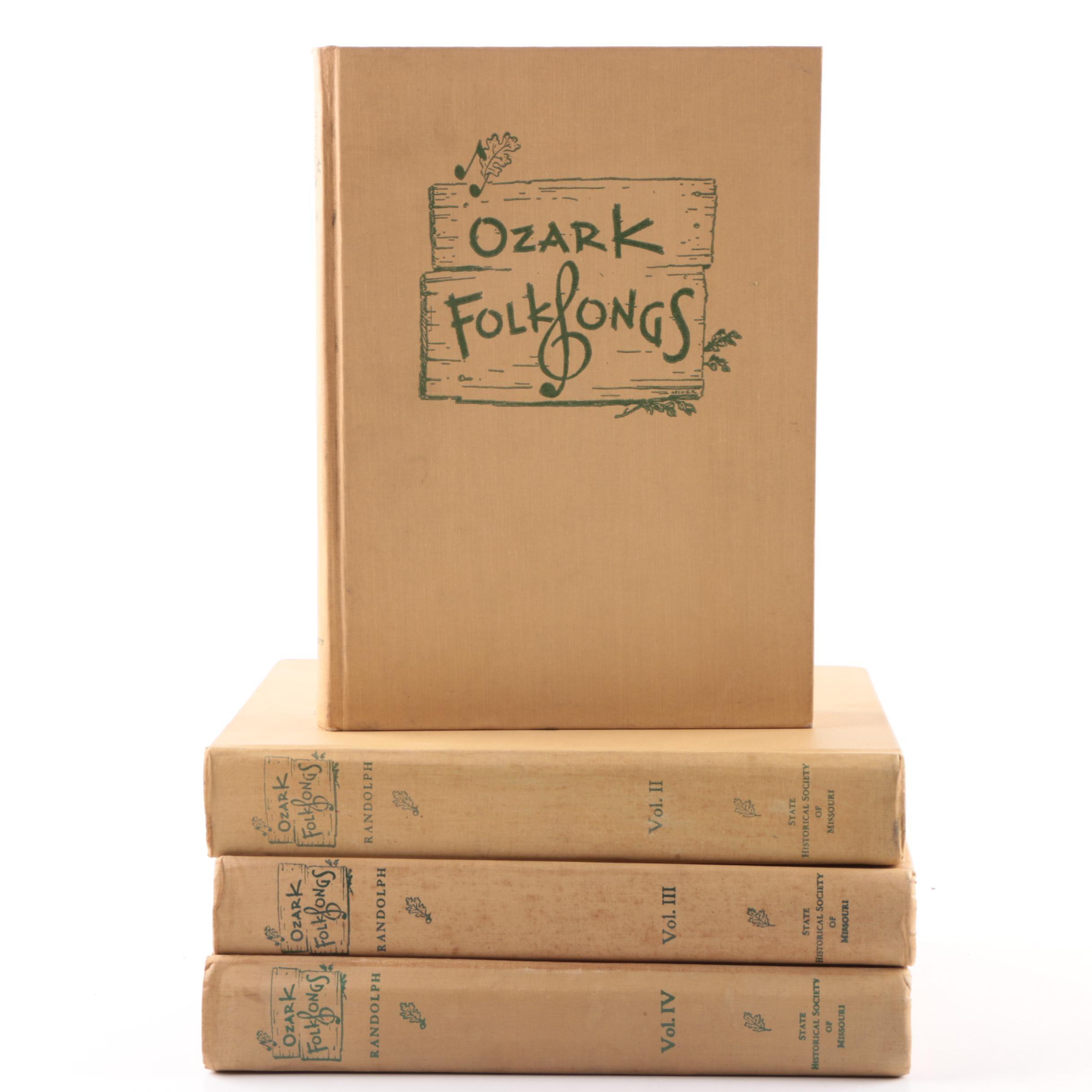 """Ozark Folk Songs"" Music Anthologies"