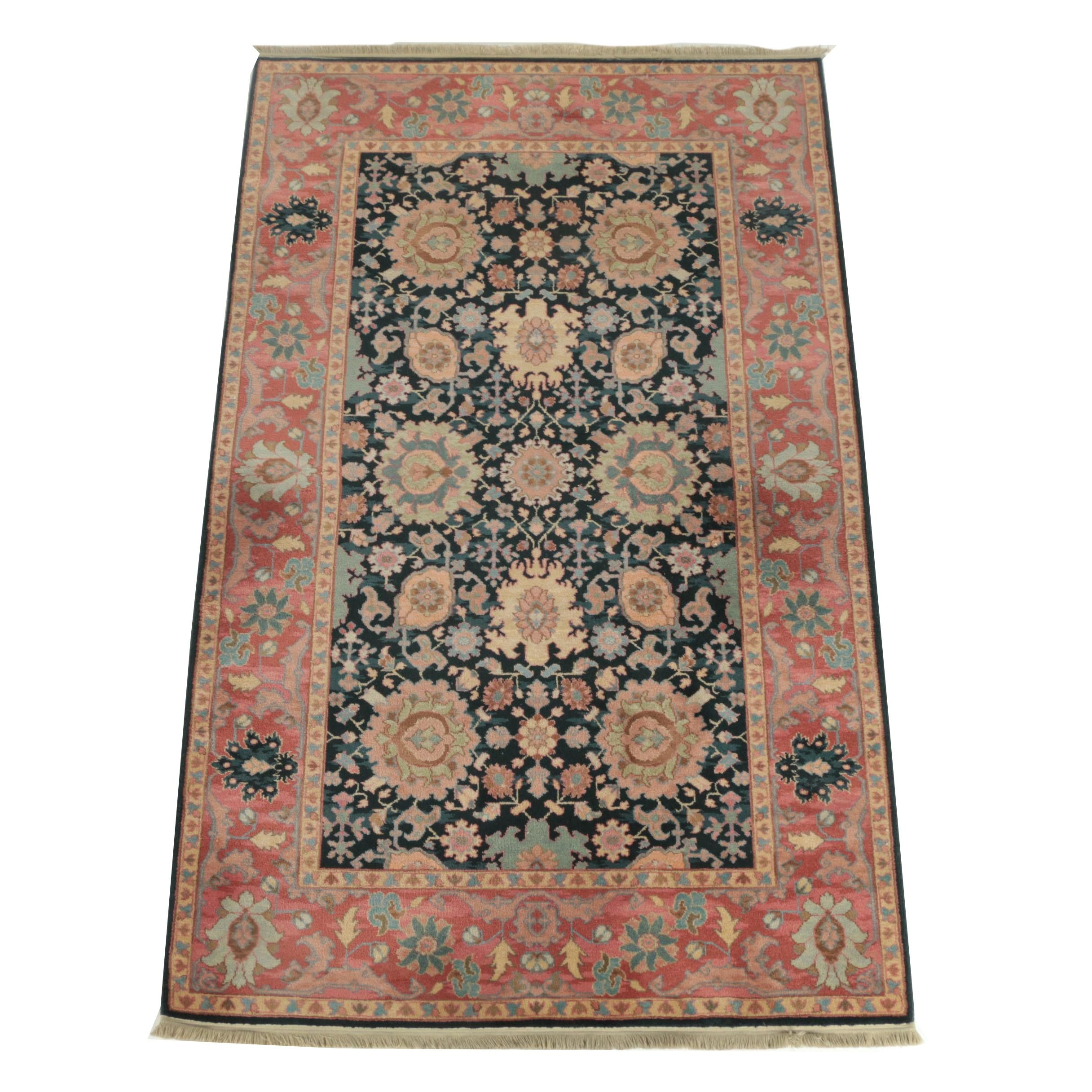 "Power-Loomed Karastan Kurdish ""Williamsburg"" Wool Area Rug"