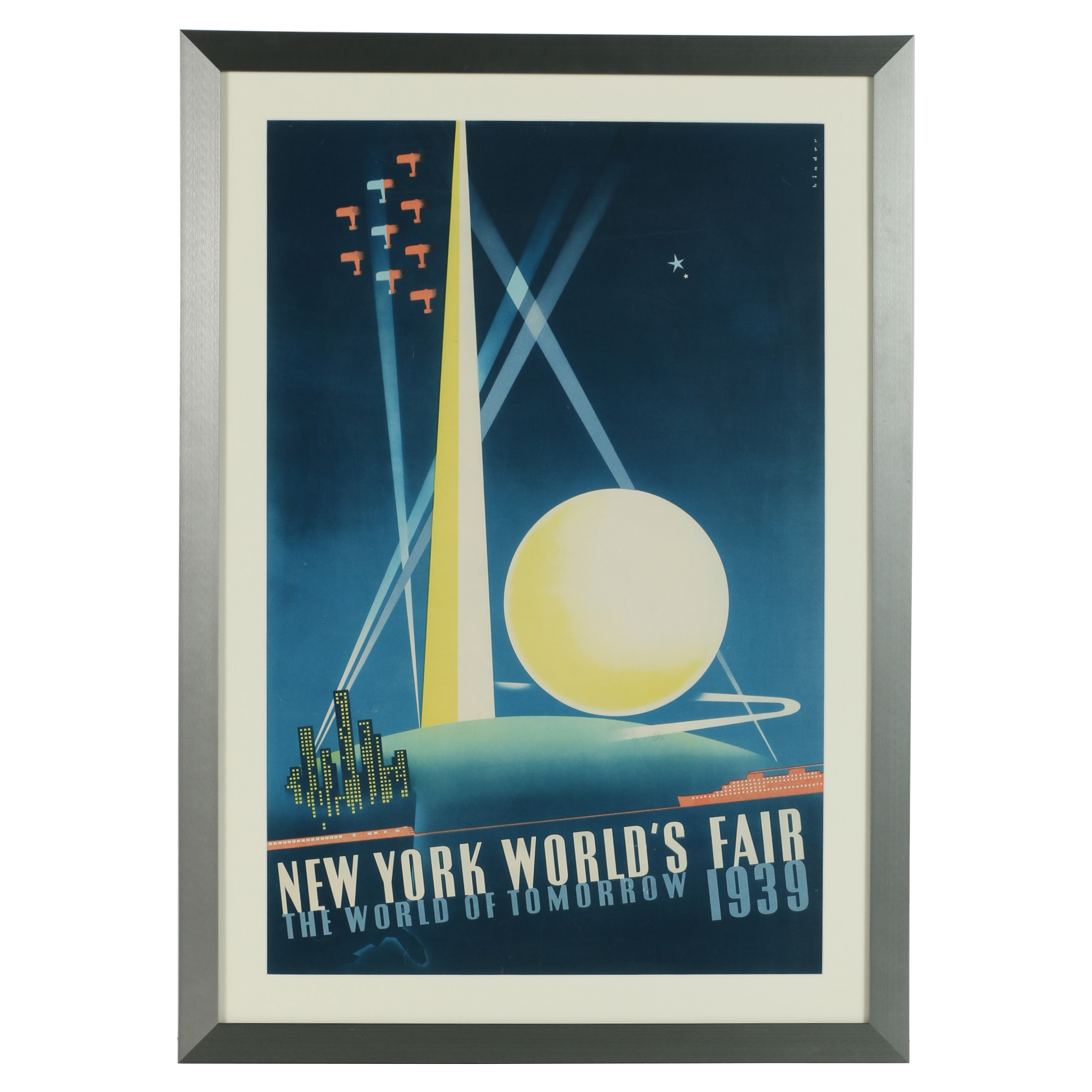 New York World's Fair 1939 Poster after Joseph Binder