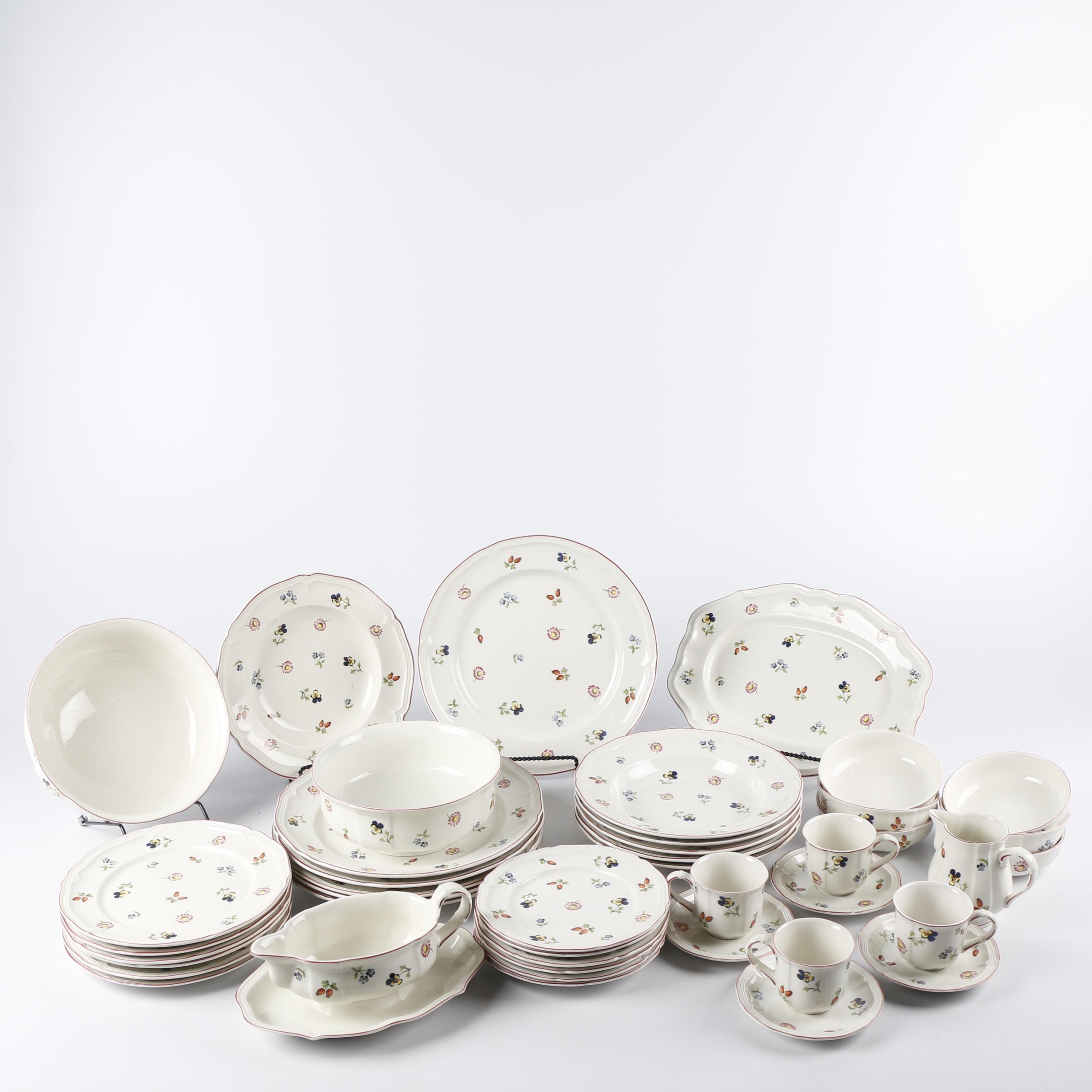 "Villeroy & Boch ""Petite Fleur"" Porcelain Dinnerware"