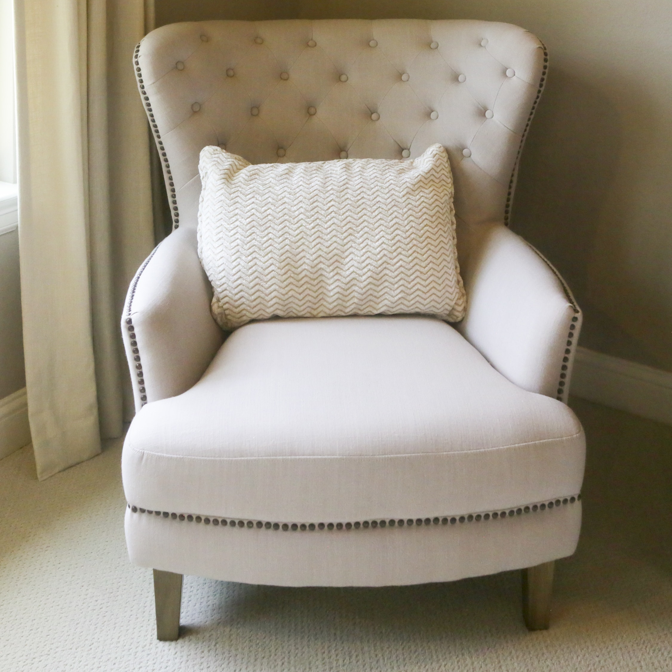Contemporary Upholstered Armchair by Jofran