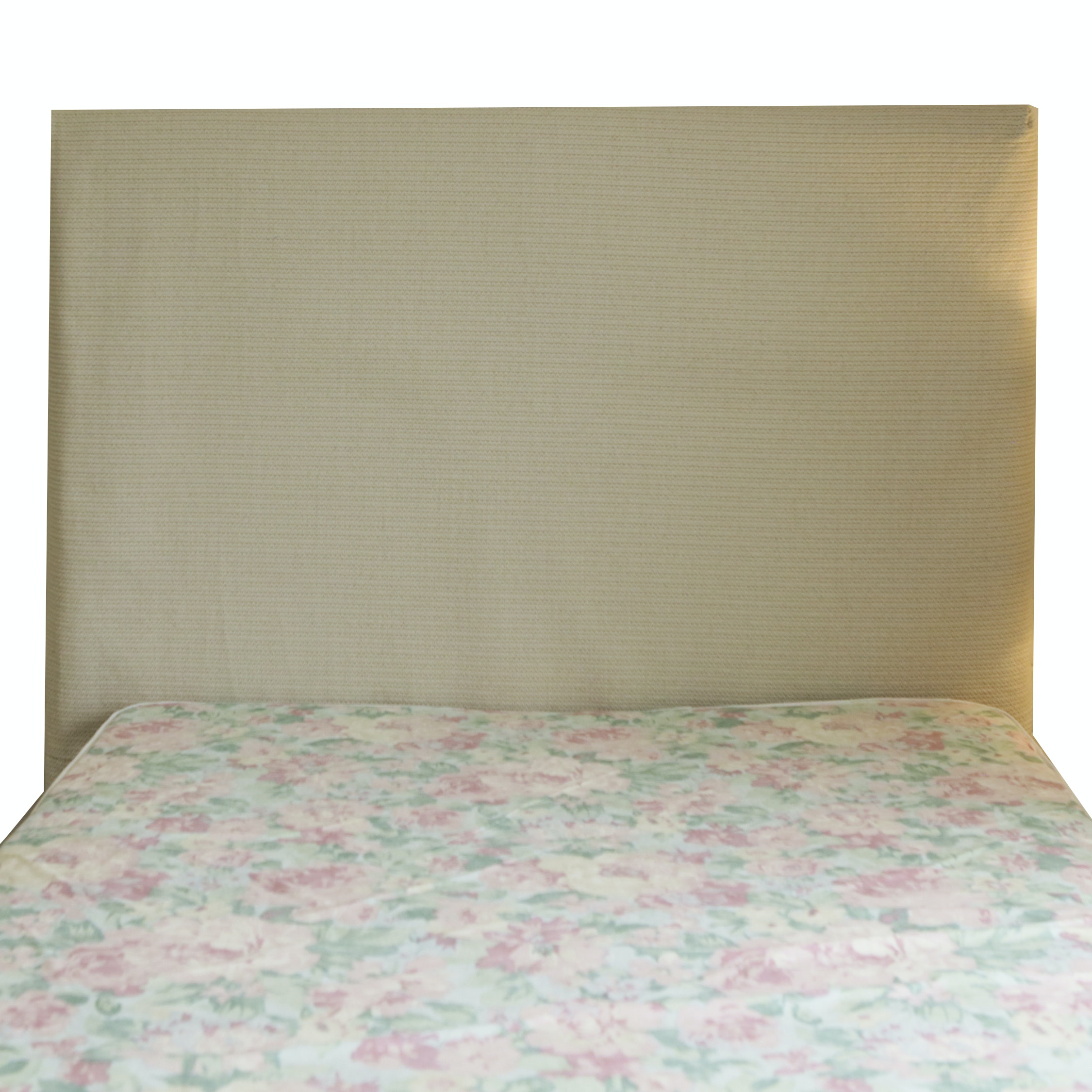 Contemporary Upholstered Full Size Headboard