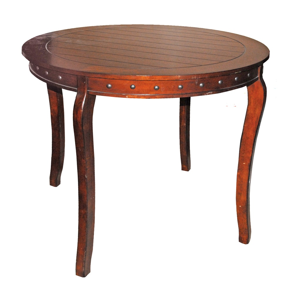Counter Height Circular Dining Table