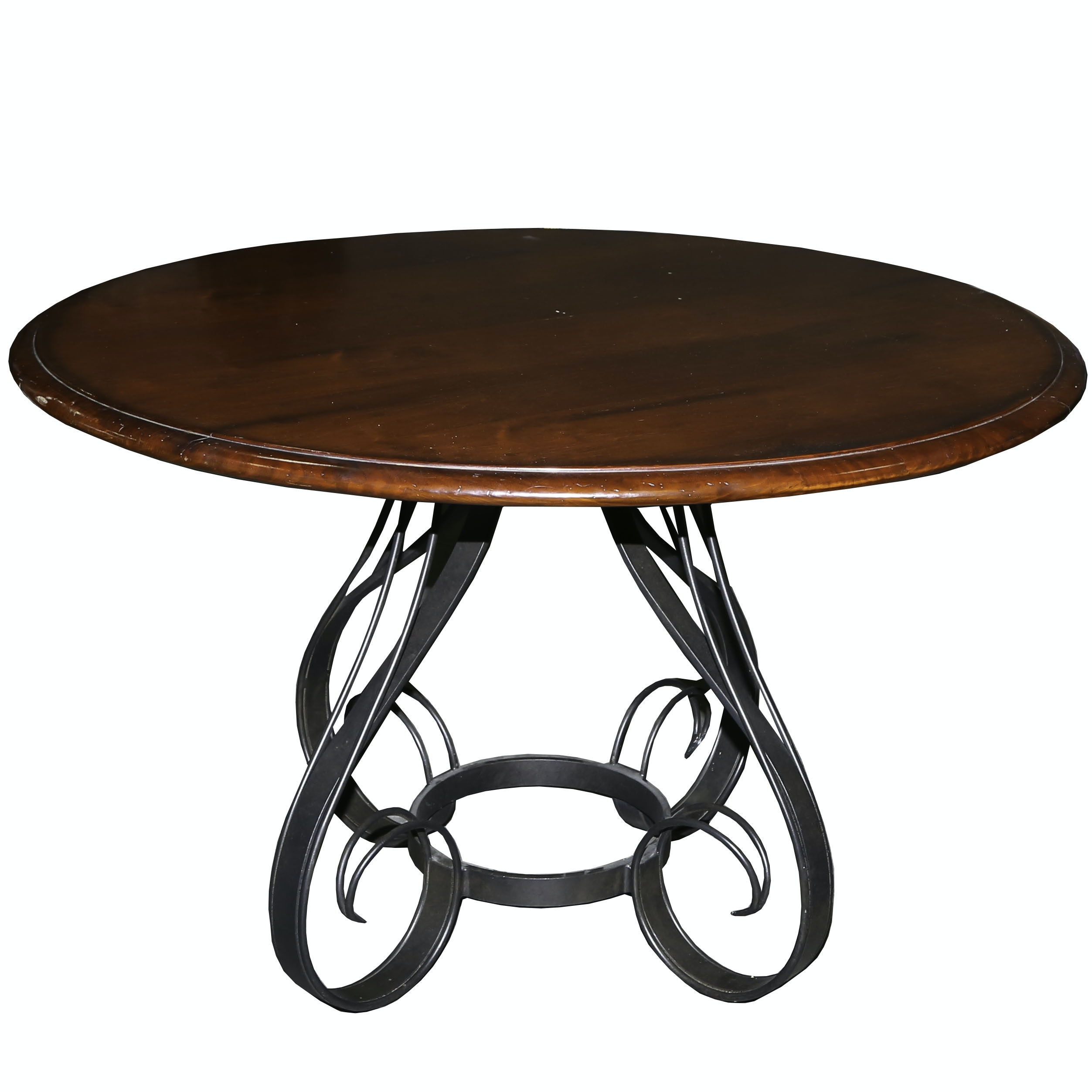 Round Pedestal Dining Table by Milling Road