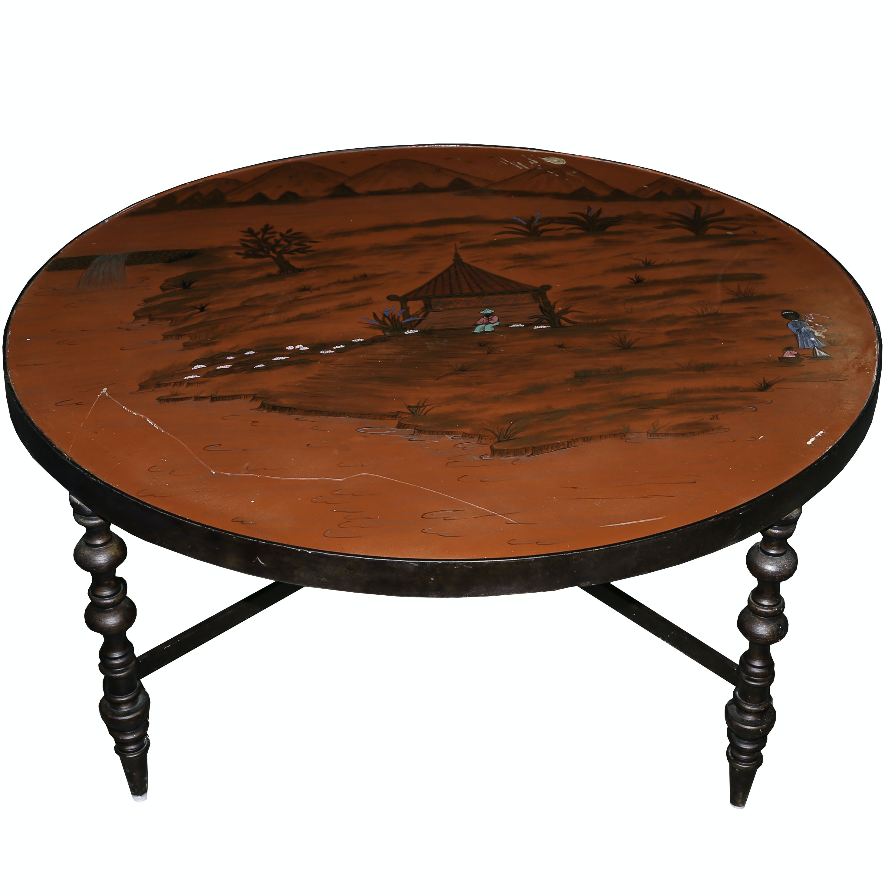 Painted Chinoiserie Coffee Table