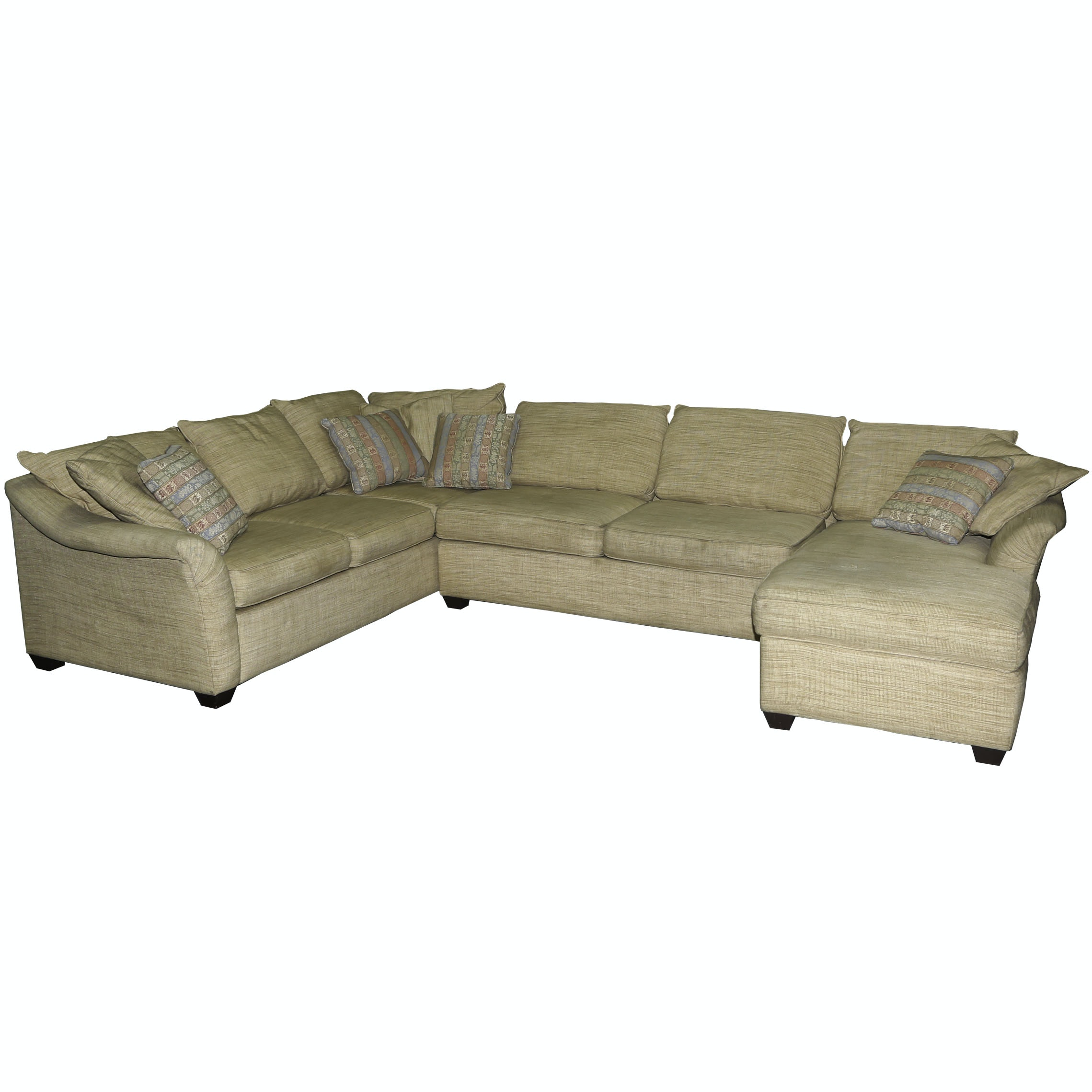 Contemporary Sectional Sofa by Rowe Furniture