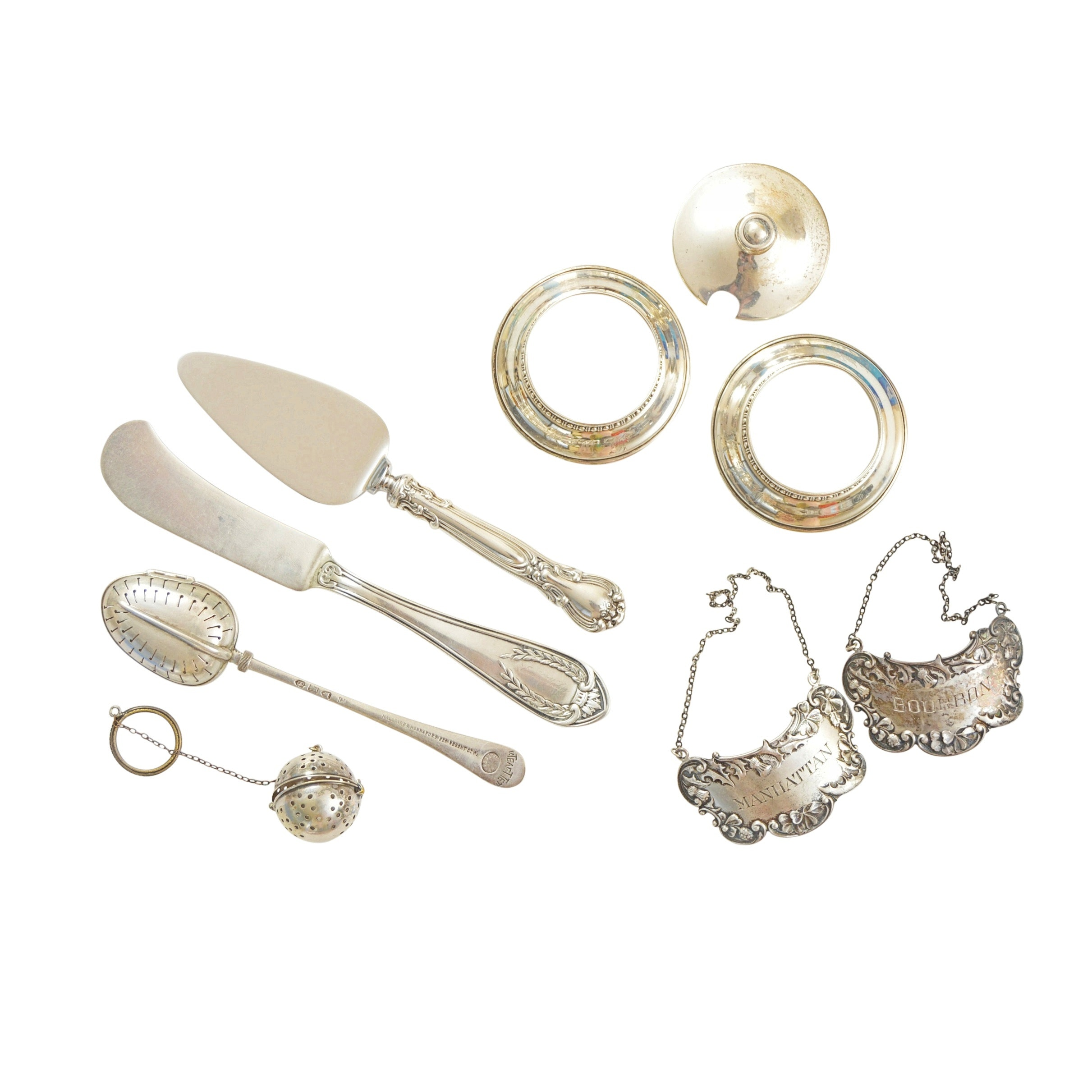 Sterling Silver Accessories with Kirk & Sons, Hawkes and George Grey 1873