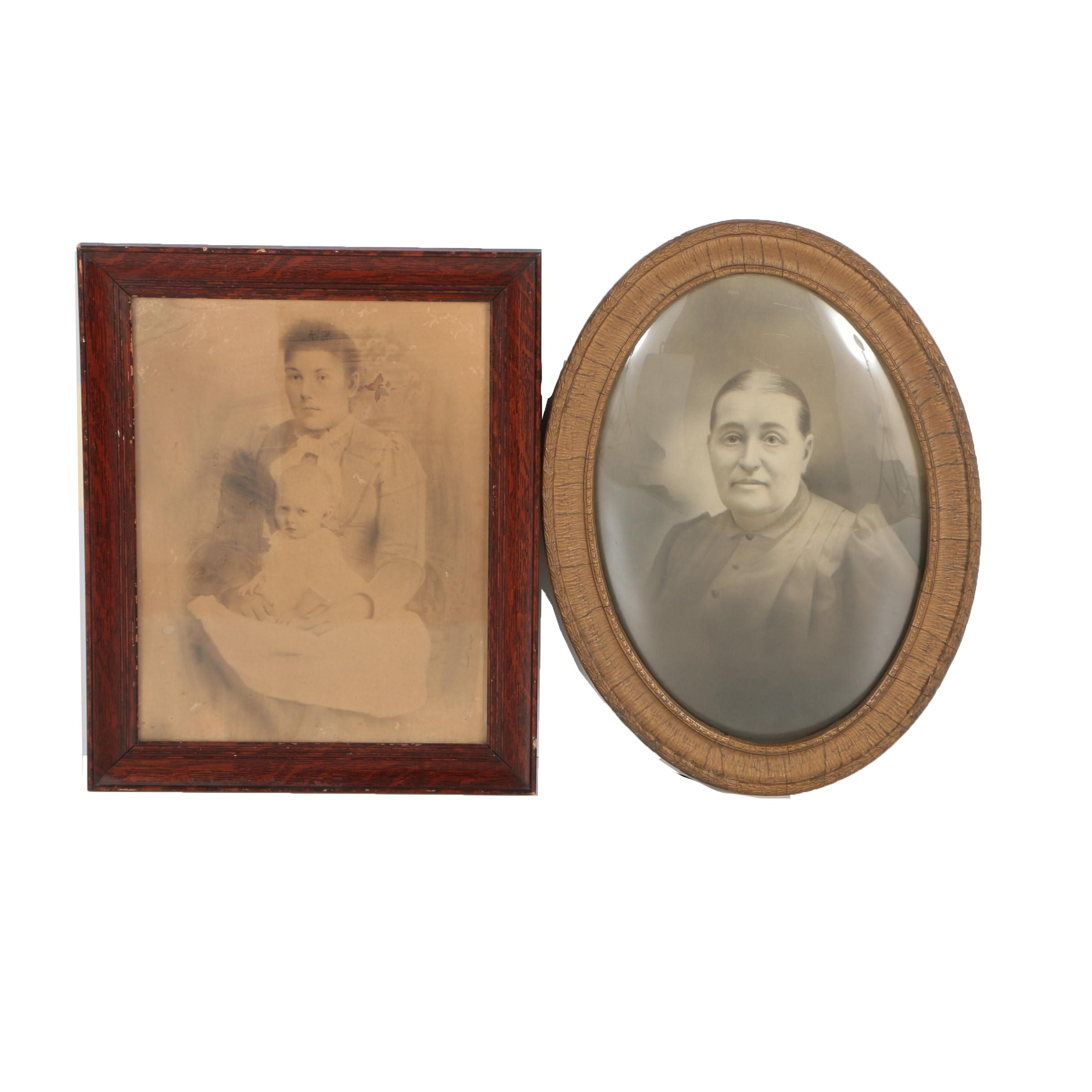 Antique Portrait Photographs