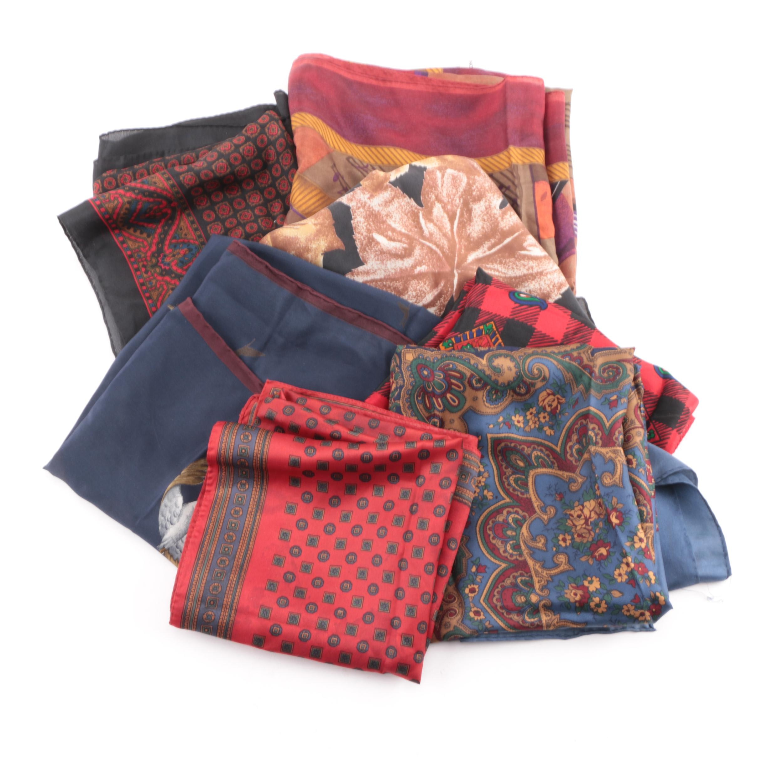 Women's Fashion Scarves Including Echo and Ralph Lauren