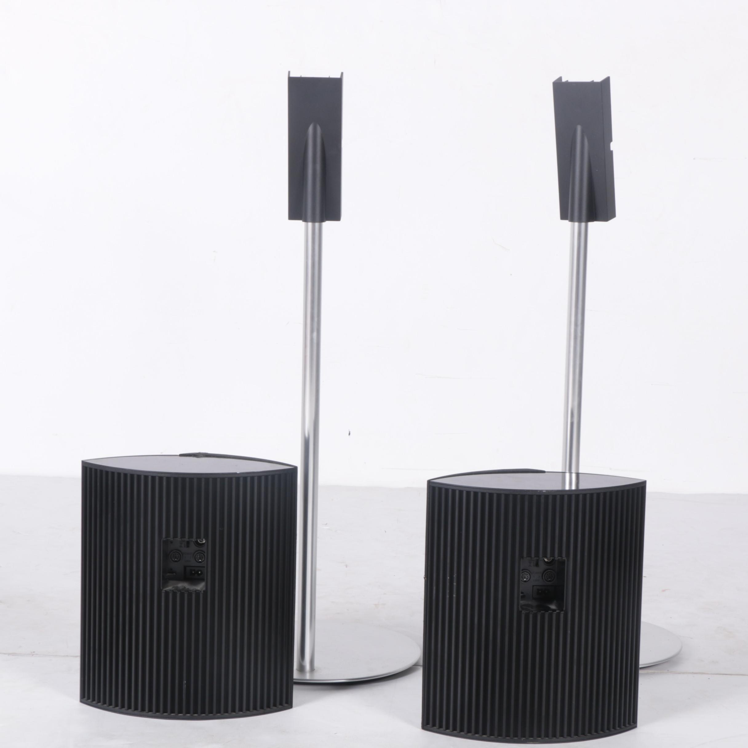 Bang & Olufsen BeoLab 4000 Speakers with Stands