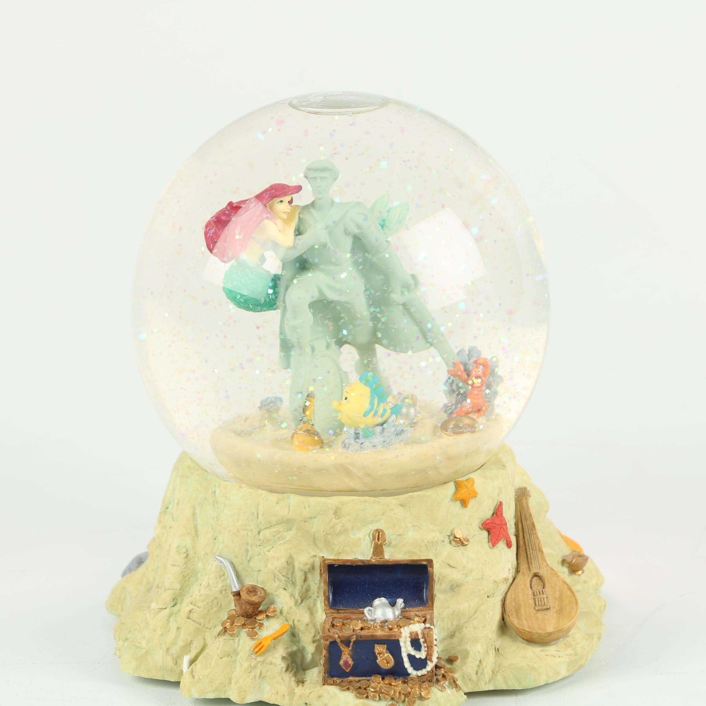 """Disney The Little Mermaid """"Part of Your World"""" Musical Snow Globe"""