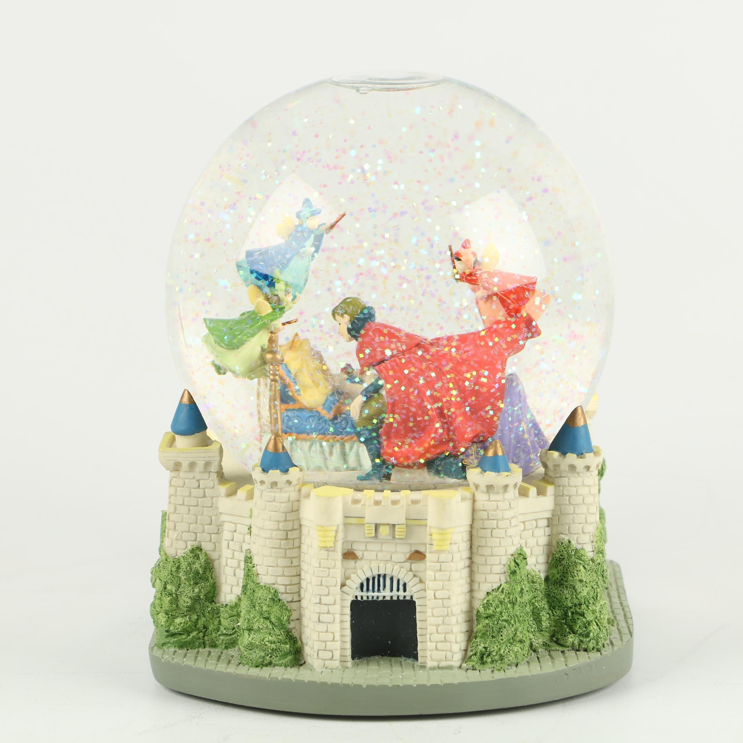 "Disney ""Sleeping Beauty"" Musical Snow Globe"