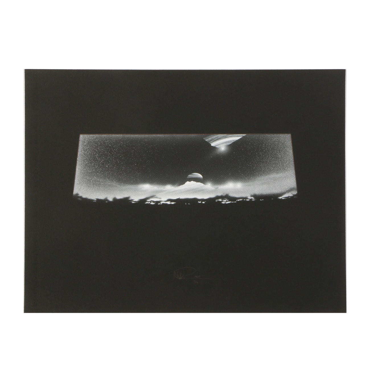 """Andreas Nottebohm Limited Edition Serigraph """"Space - the Final Frontier"""""""