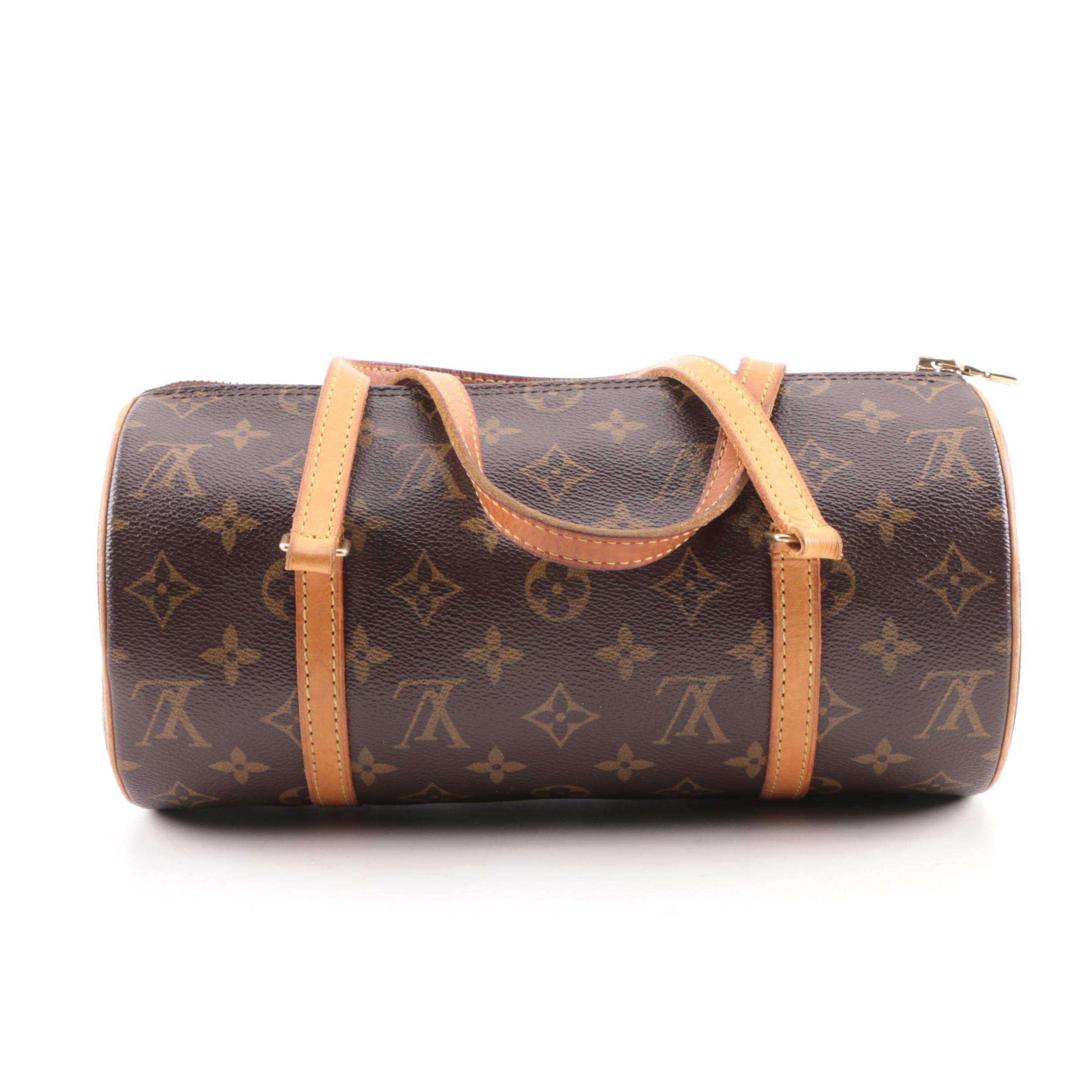 2004 Louis Vuitton of Paris Monogram Papillon Barrel Bag