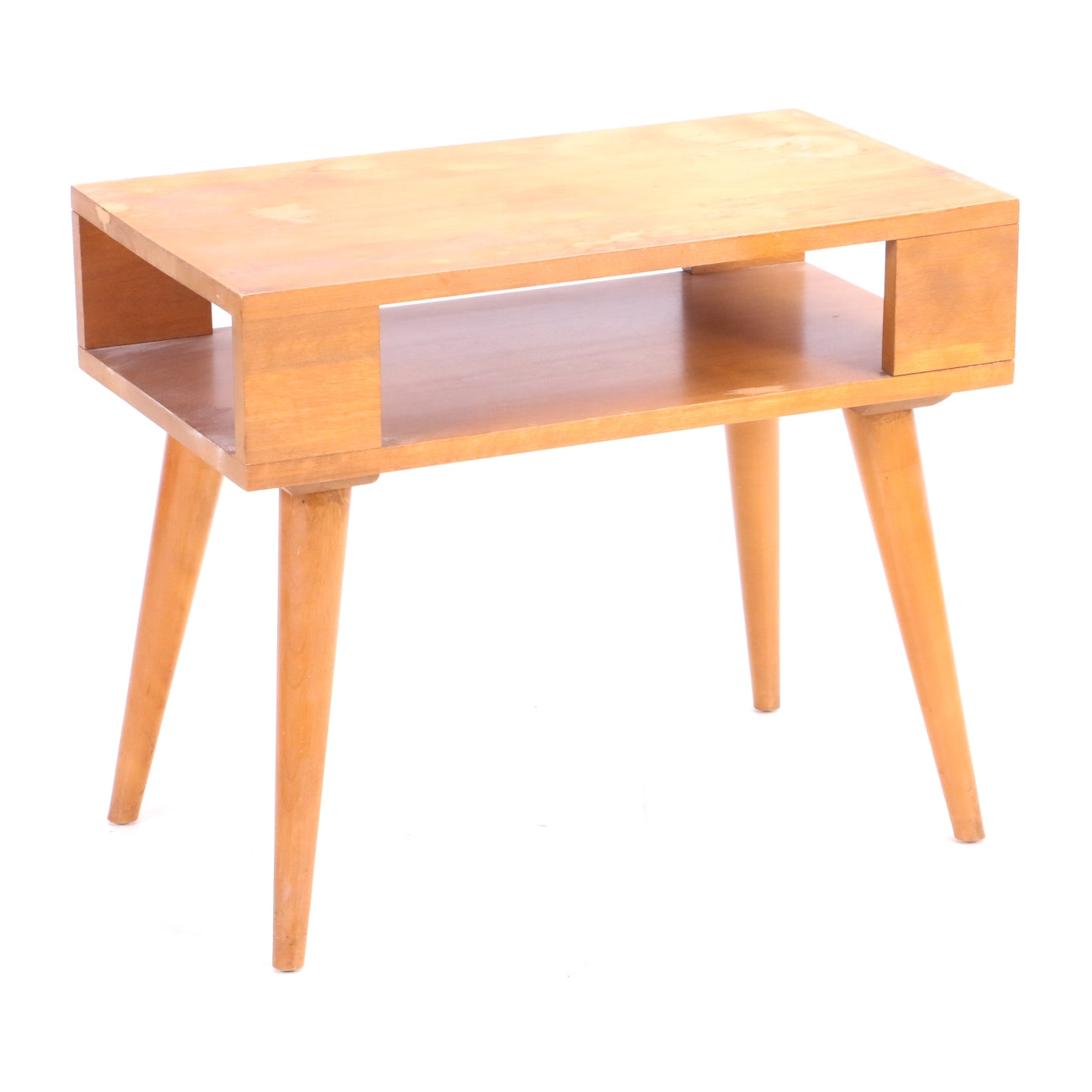 Mid Century Modern End Table by Russel Wright for Conant Ball