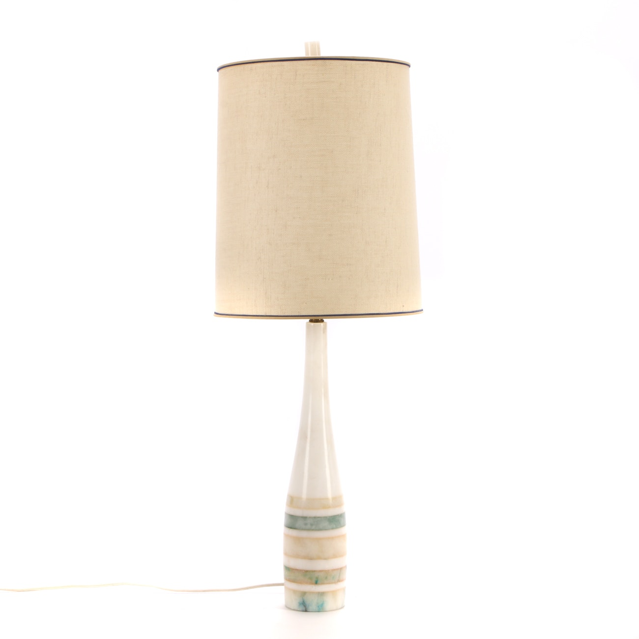 Mid Century Modern Marble Table Lamp