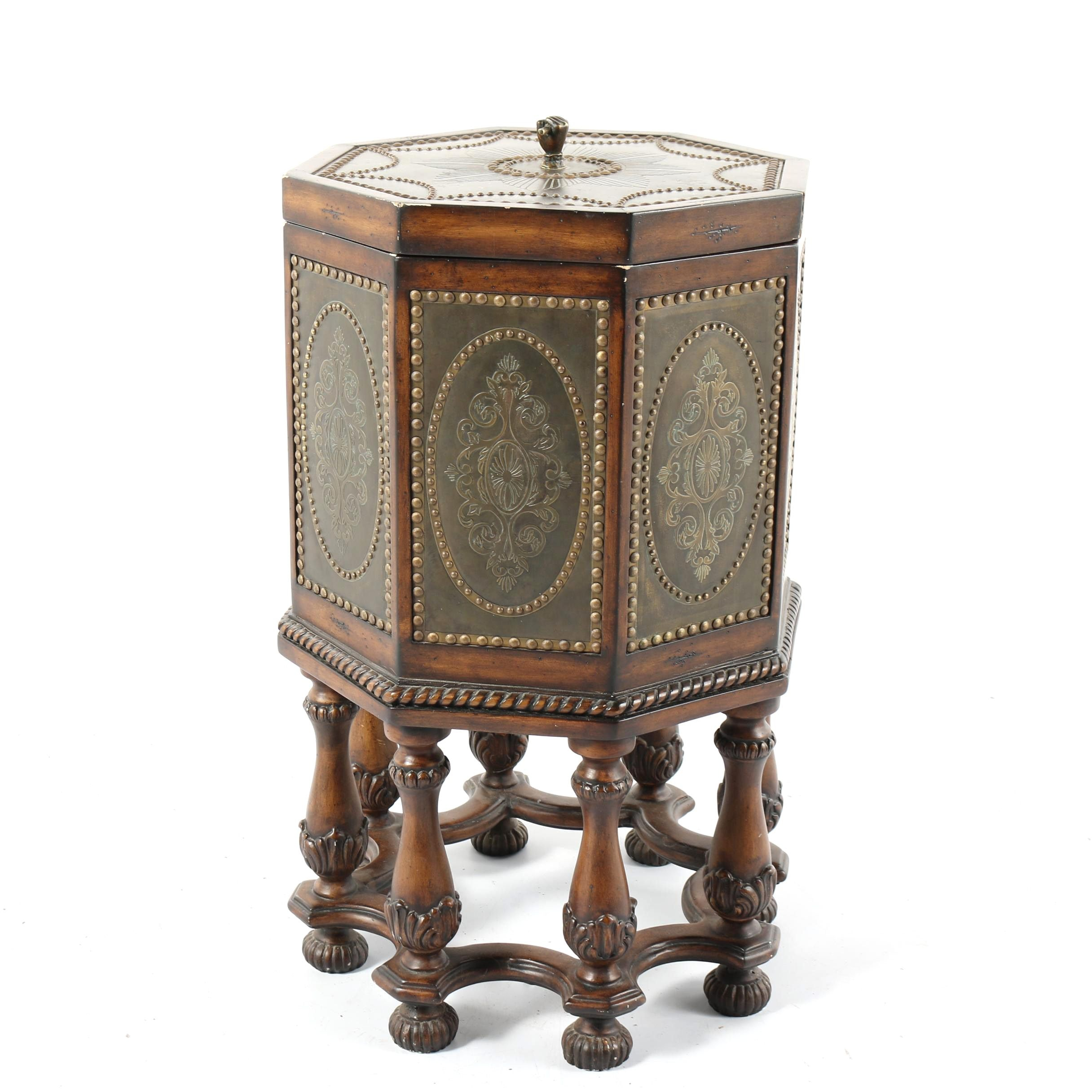 Louis XVI Style Storage Accent Table