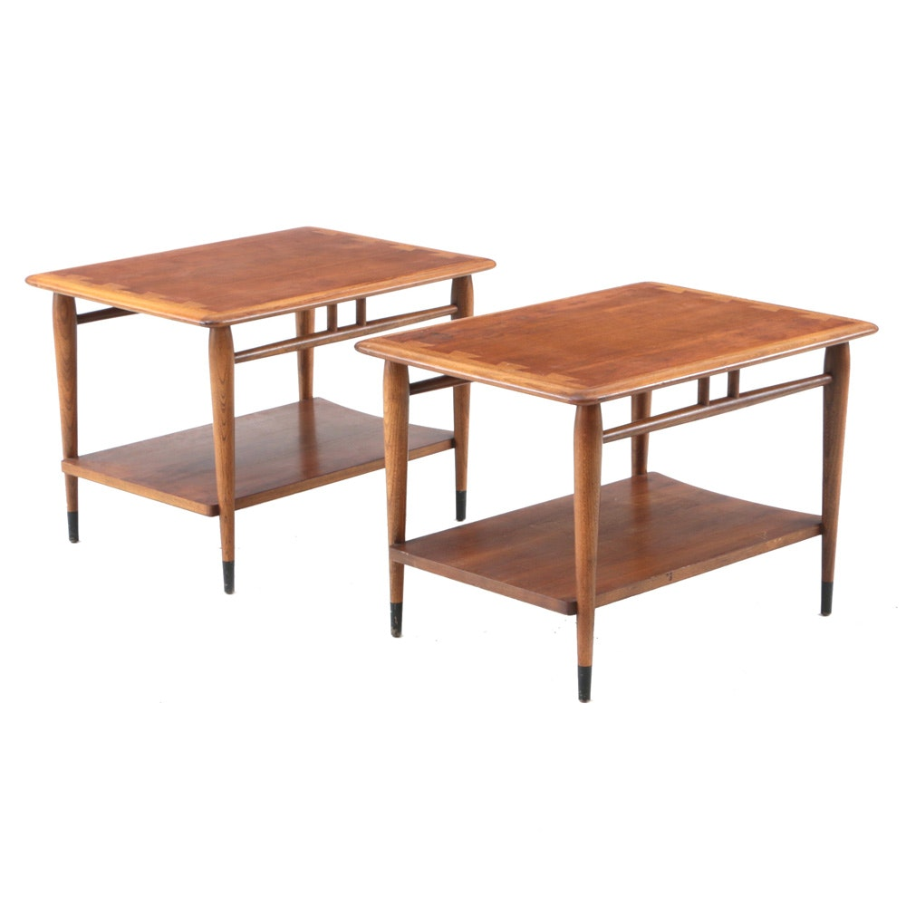 """Mid Century Modern """"Acclaim"""" Side Tables by Lane Furniture"""