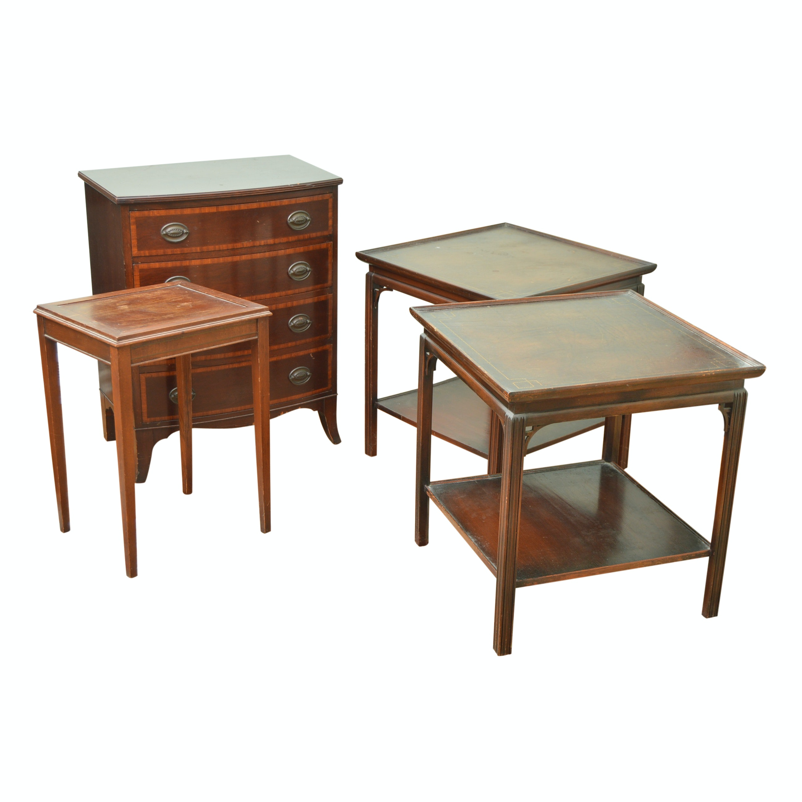 Vintage Furniture with Hepplewhite Style Chest