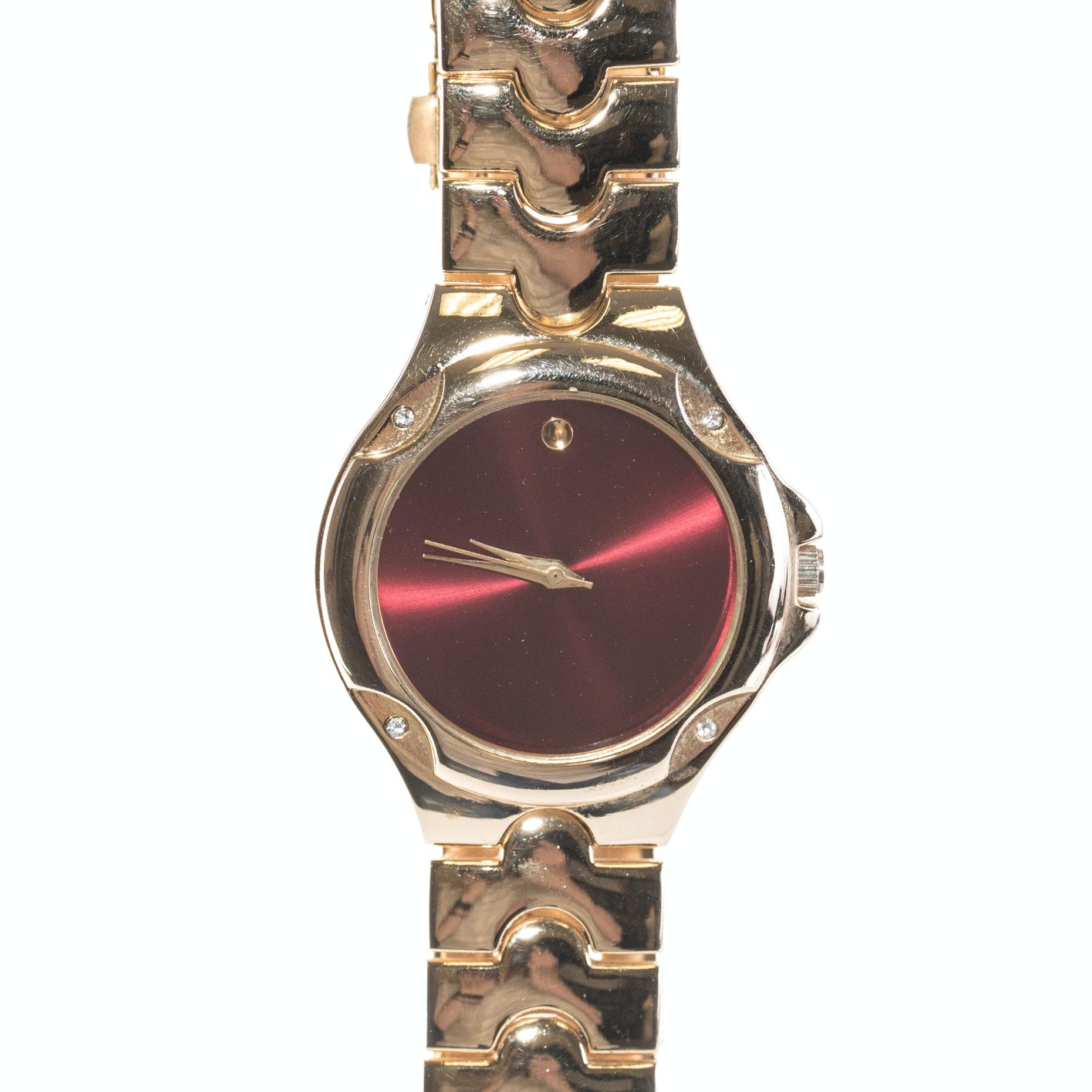 Geneva Elite Gold Tone Wristwatch