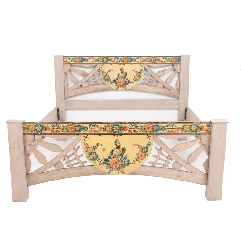 King Size Parrot Bed Frame