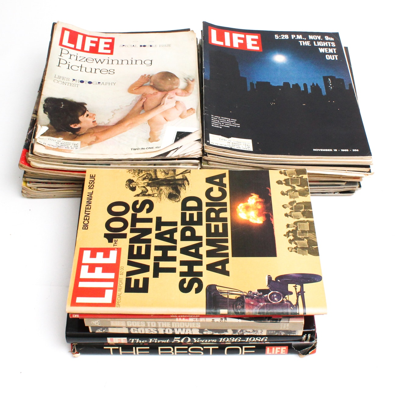 "Vintage ""LIFE"" Magazine Editions, 1960s-1970s"