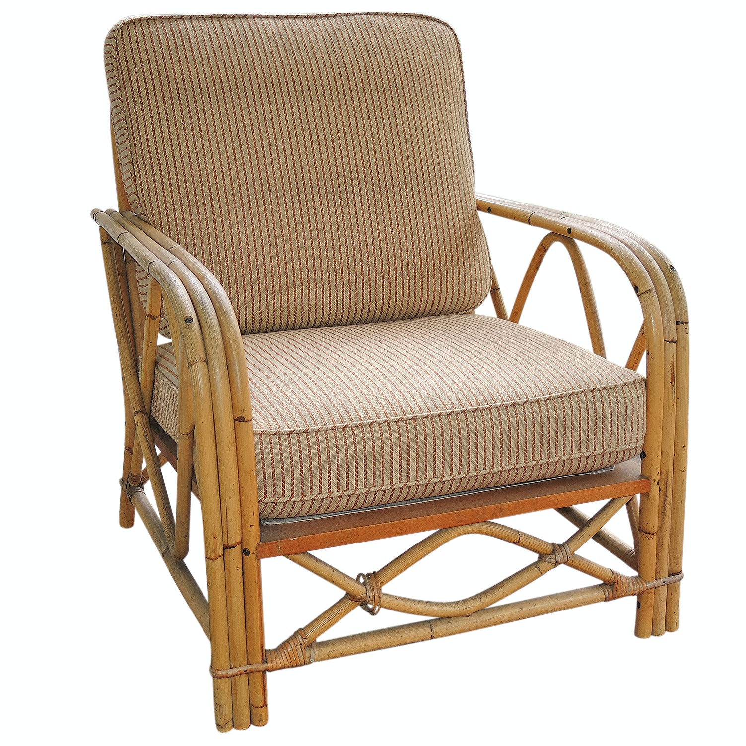 Ficks Reed Bamboo and Rattan Sunroom Chair
