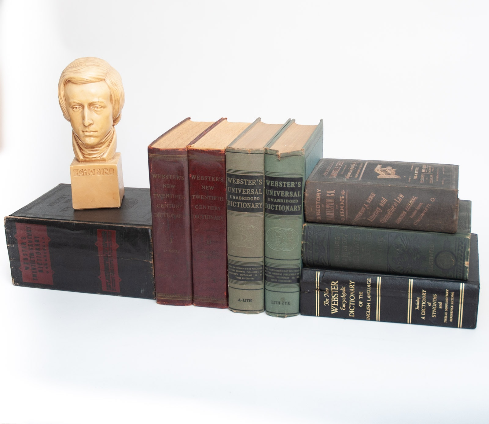 Antique and Vintage Dictionaries and Directories
