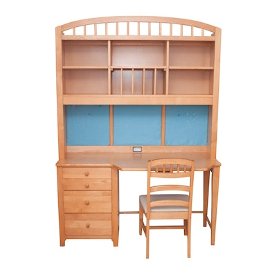 Stanley Furniture Young America Desk With Hutch Ebth