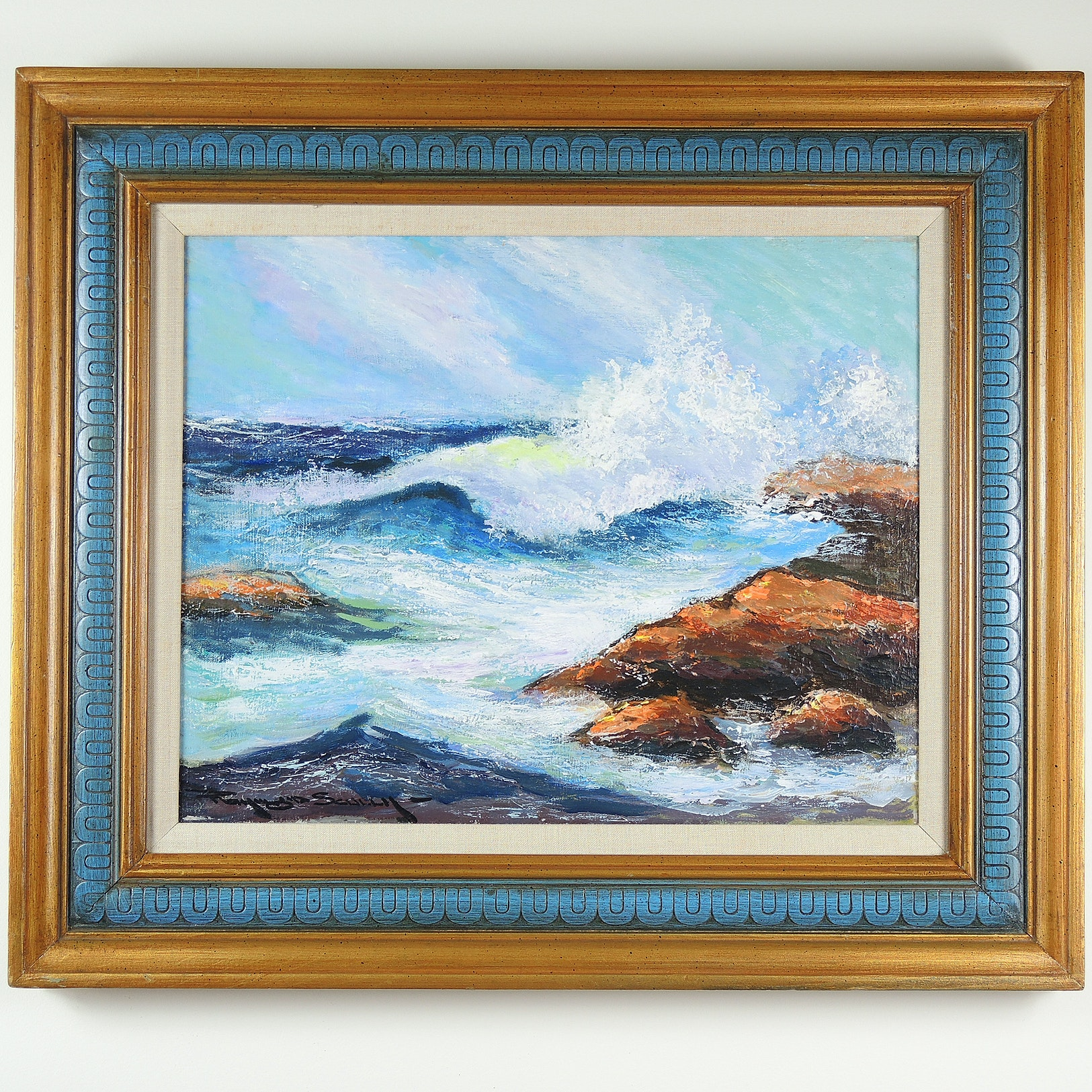Raymond Scully Oil Painting