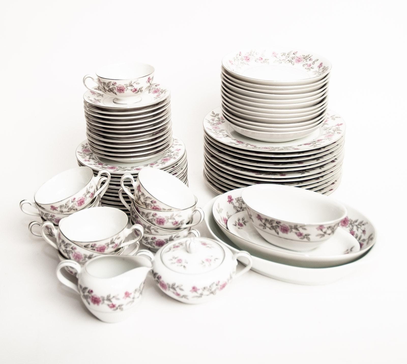 "Harmony House ""Laura"" Porcelain Dinner Service"