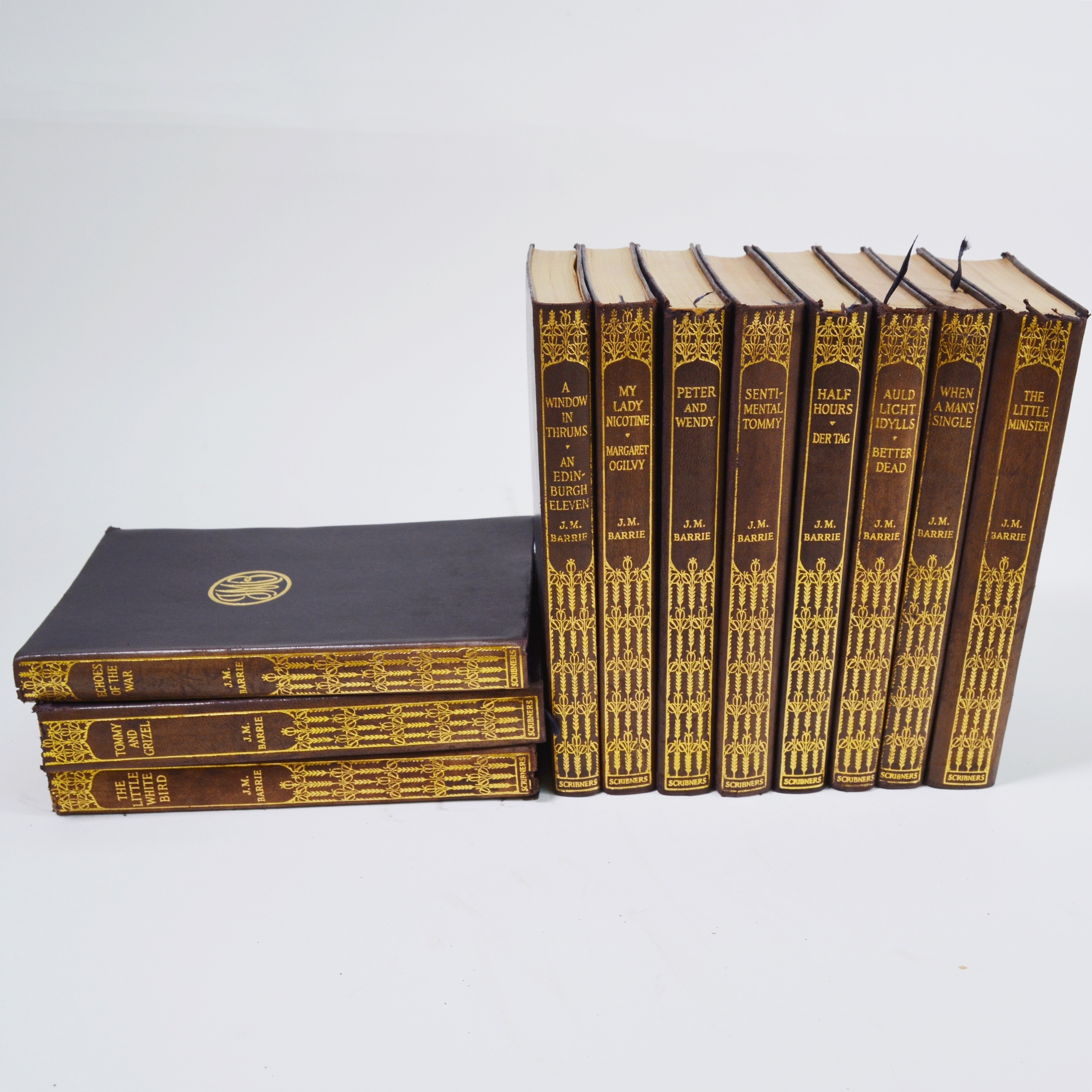 The Works of J.M. Barrie Eleven Volume Set