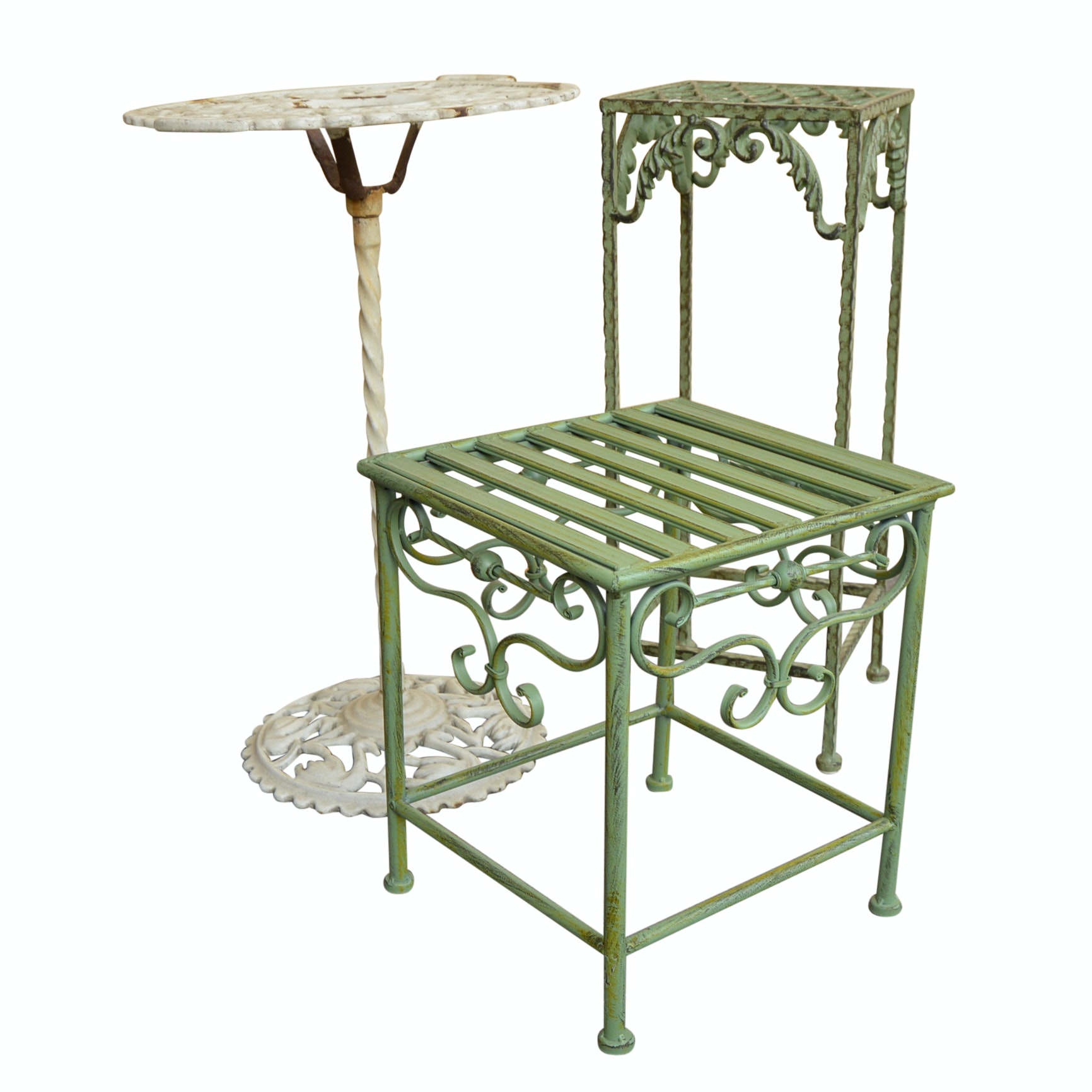 Metal Garden Tables