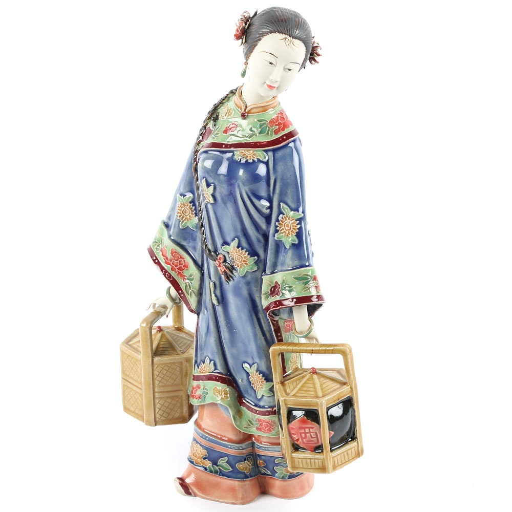 Chinese Porcelain Figurine