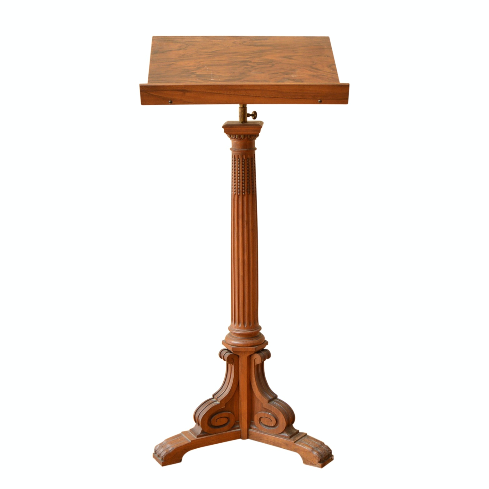 Neoclassic Style Dictionary Stand