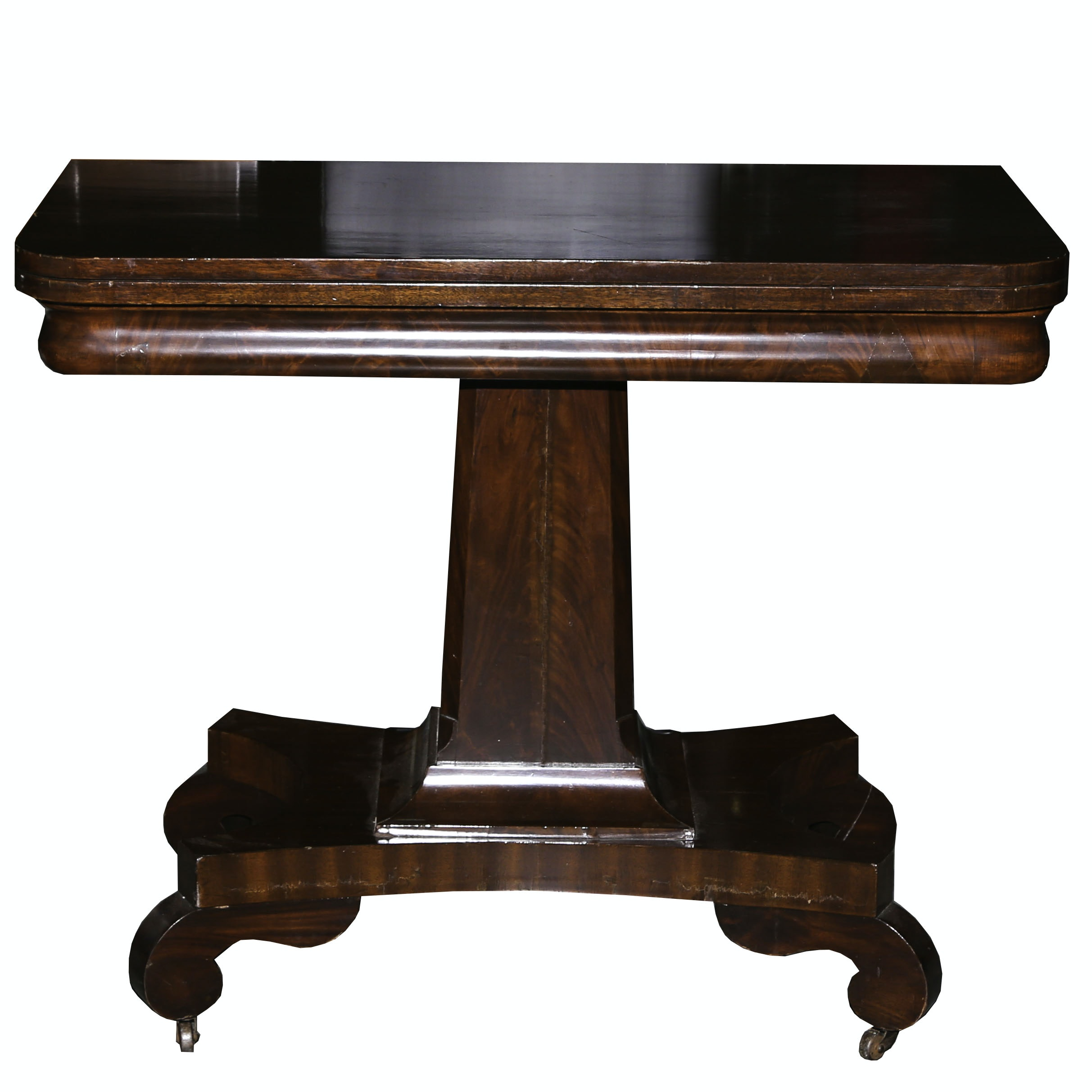 Empire Mahogany Game Table
