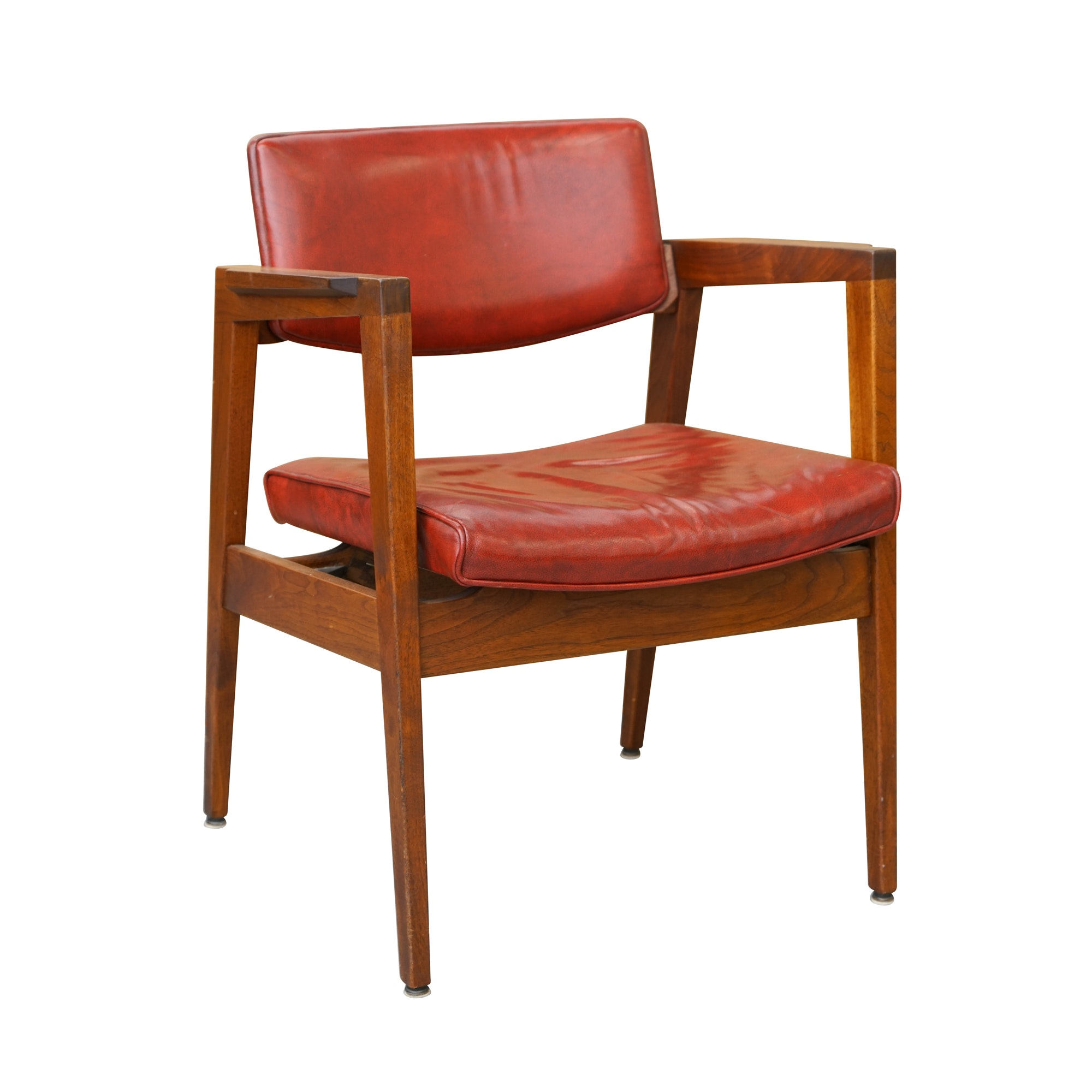 Mid Century Modern Armchair by The Gunlocke Company