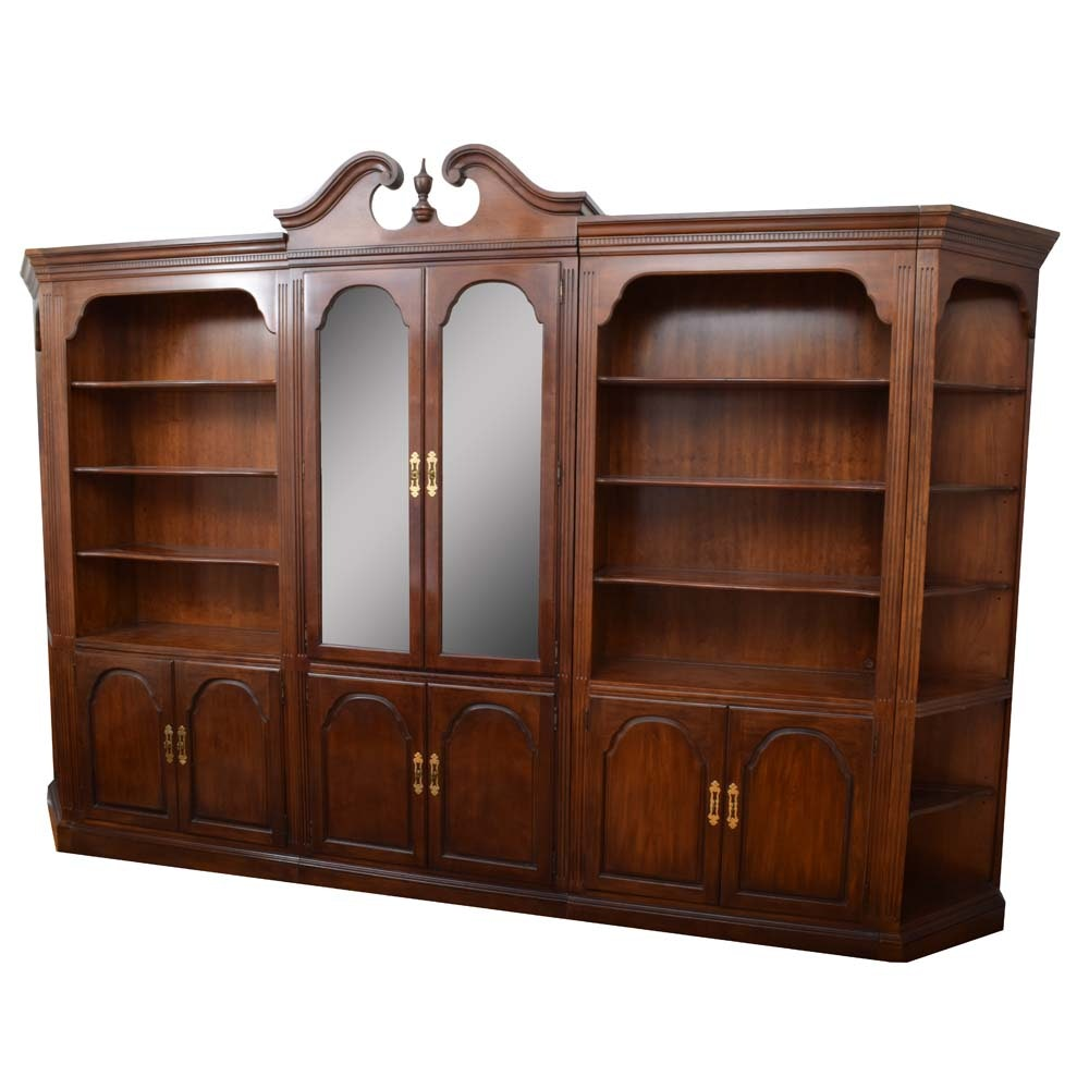 Queen Anne Curio Cabinet and Wall Unit