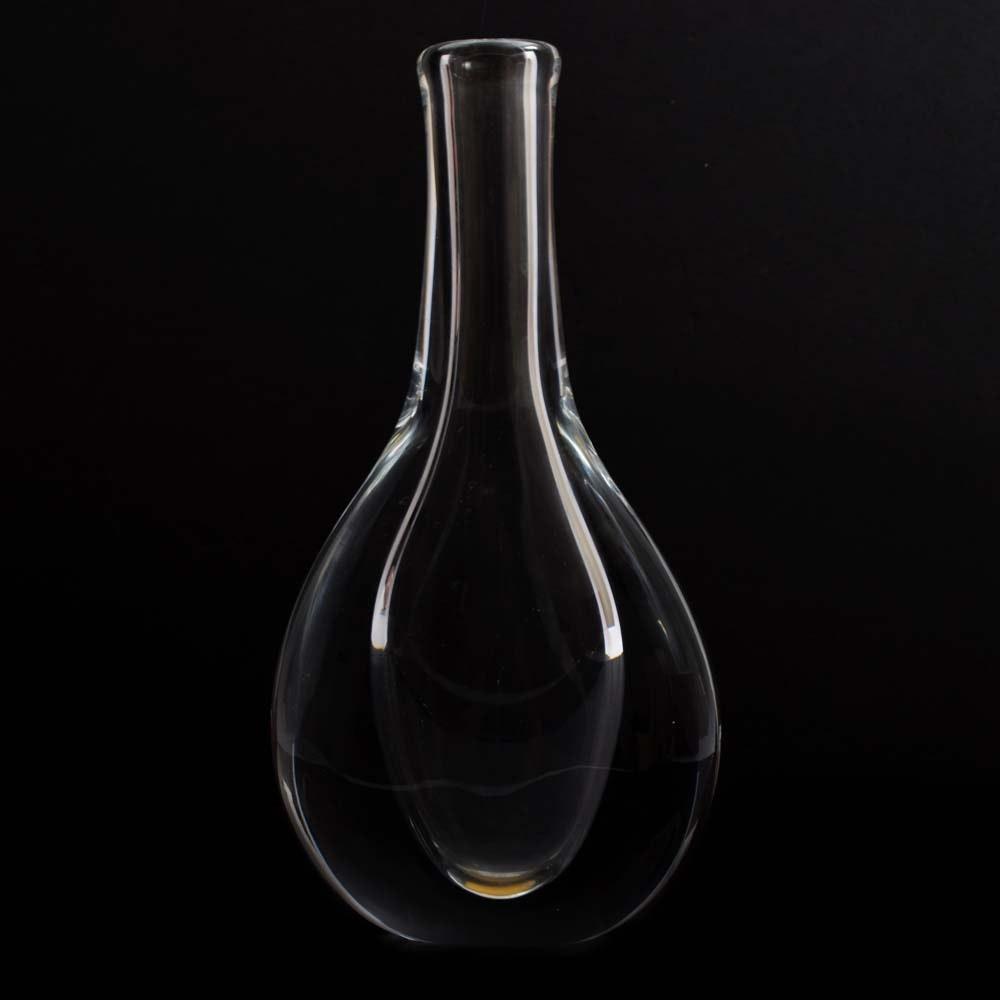 Vintage Göran Wärff for Kosta Crystal Vase