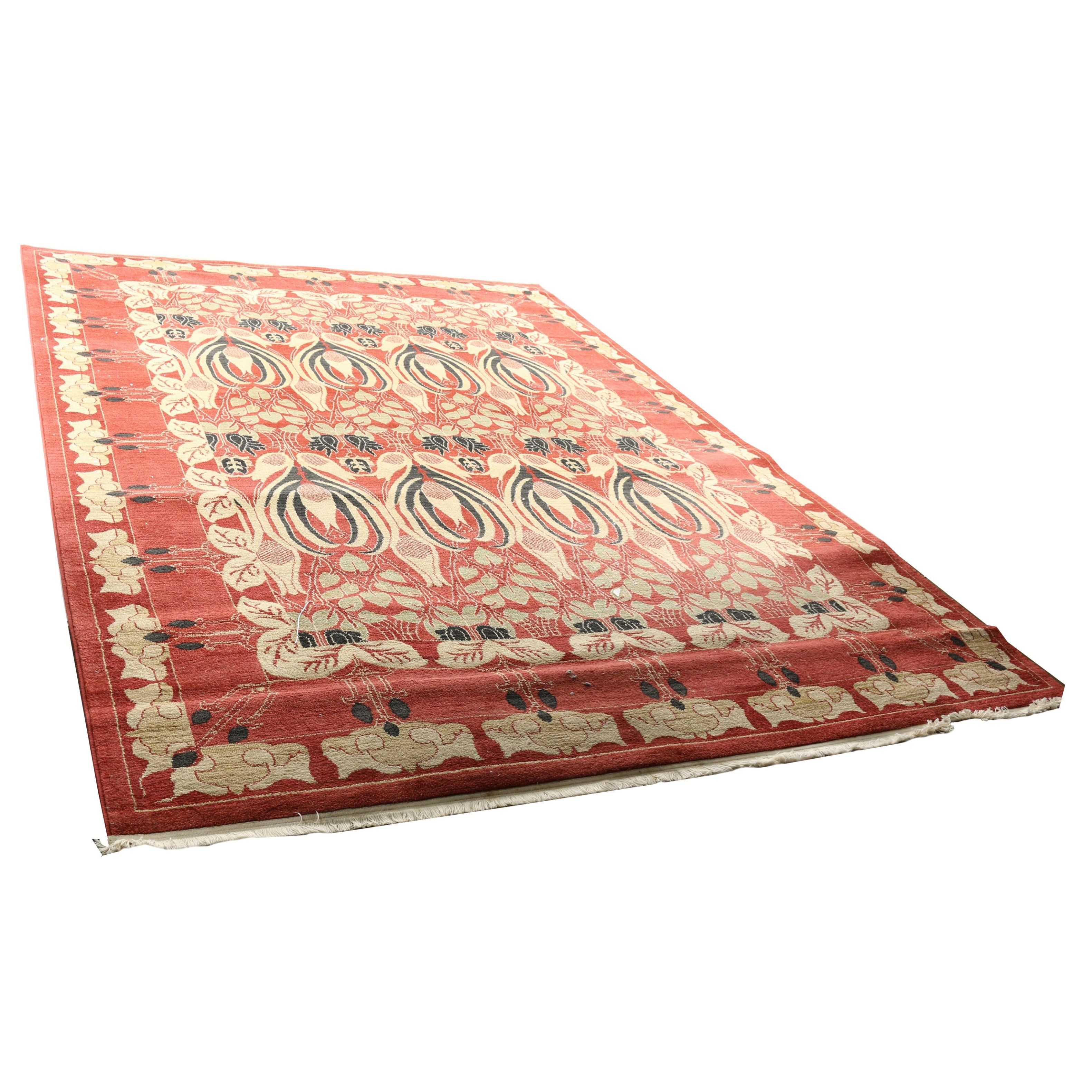 """Power-Loomed Turkish """"Ziegler"""" Area Rug by Unique Loom"""