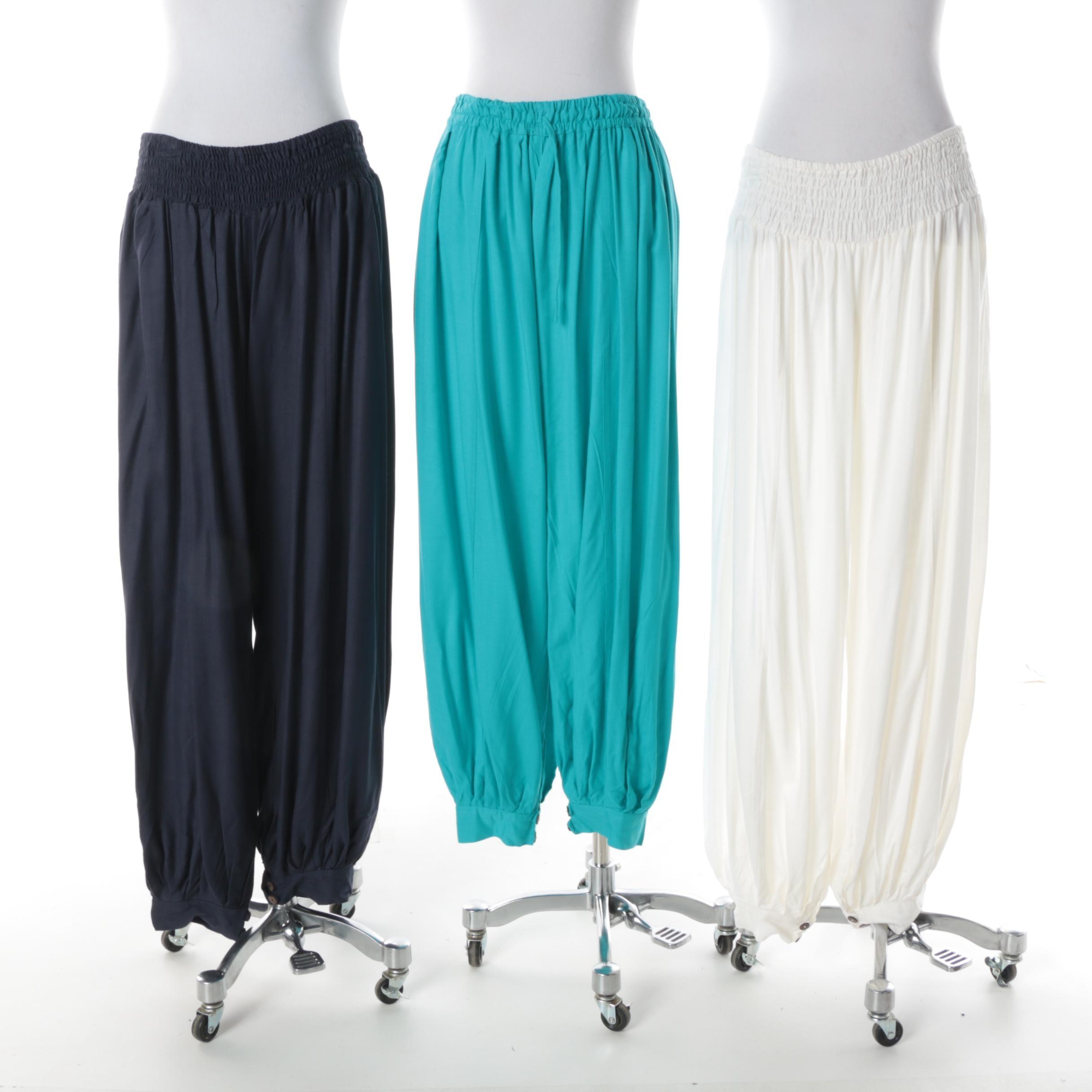 Women's Aller Simplement Rayon Harem Pants