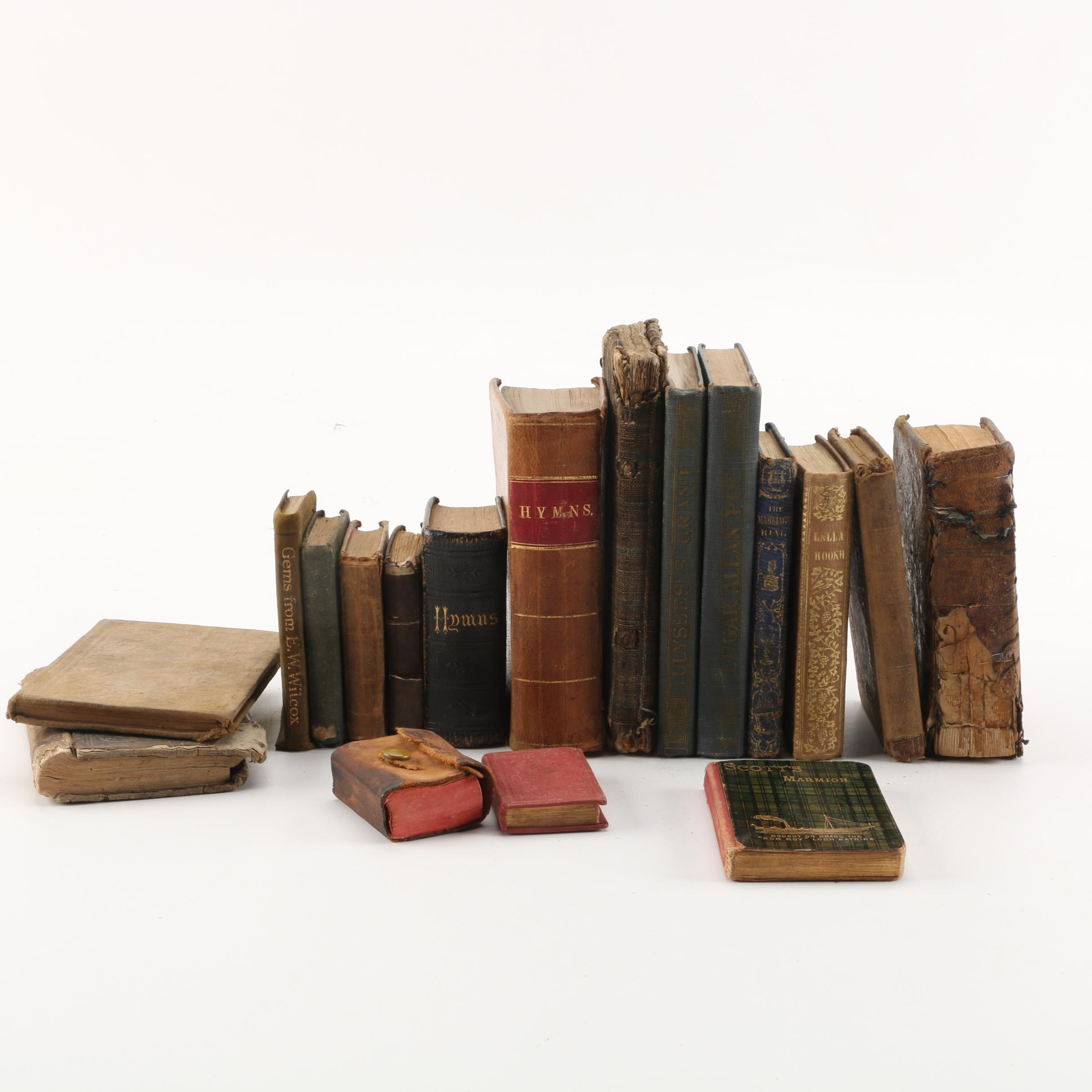 19th and 20th Century Book Assortment