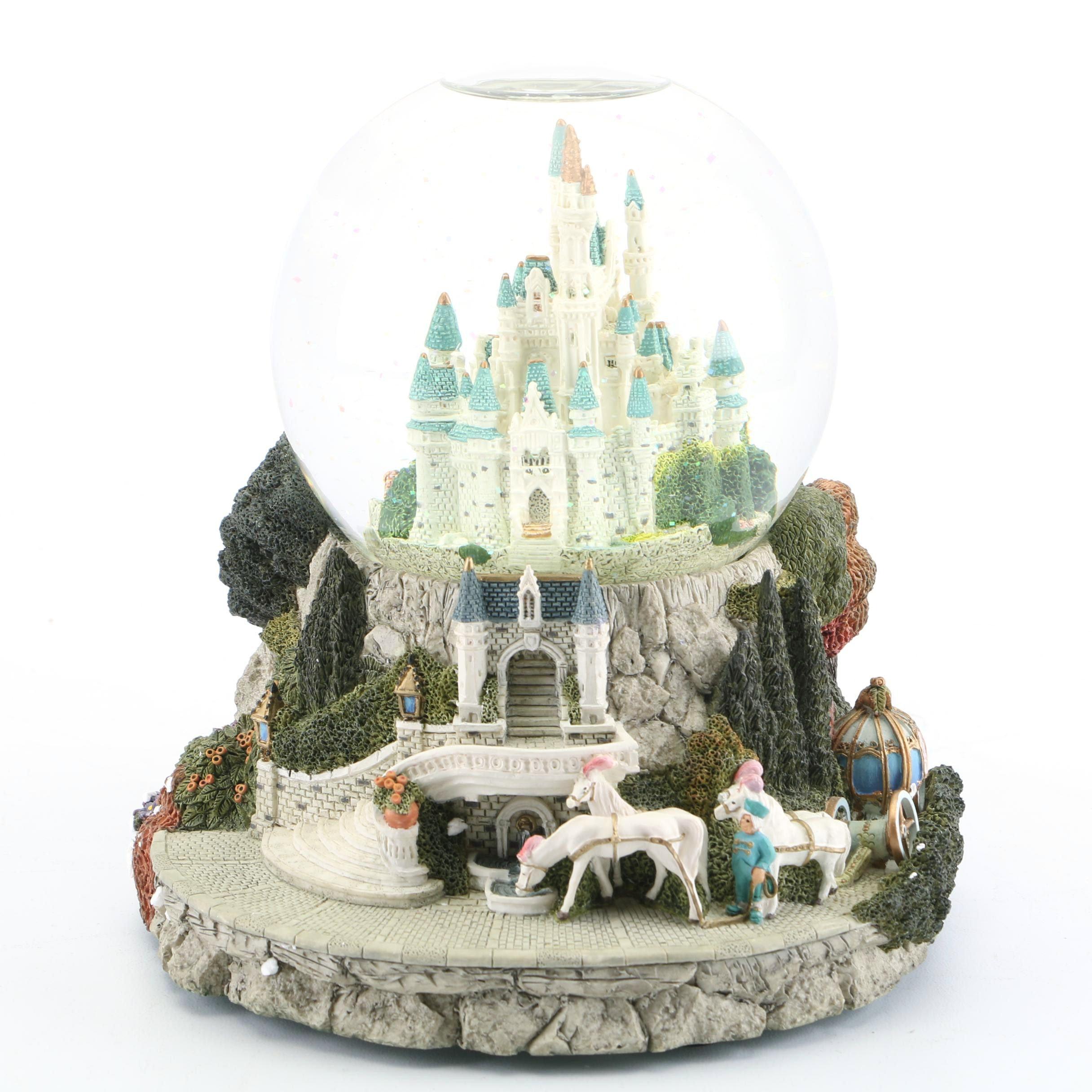 "Disney ""Cinderella"" Musical Snow Globe"