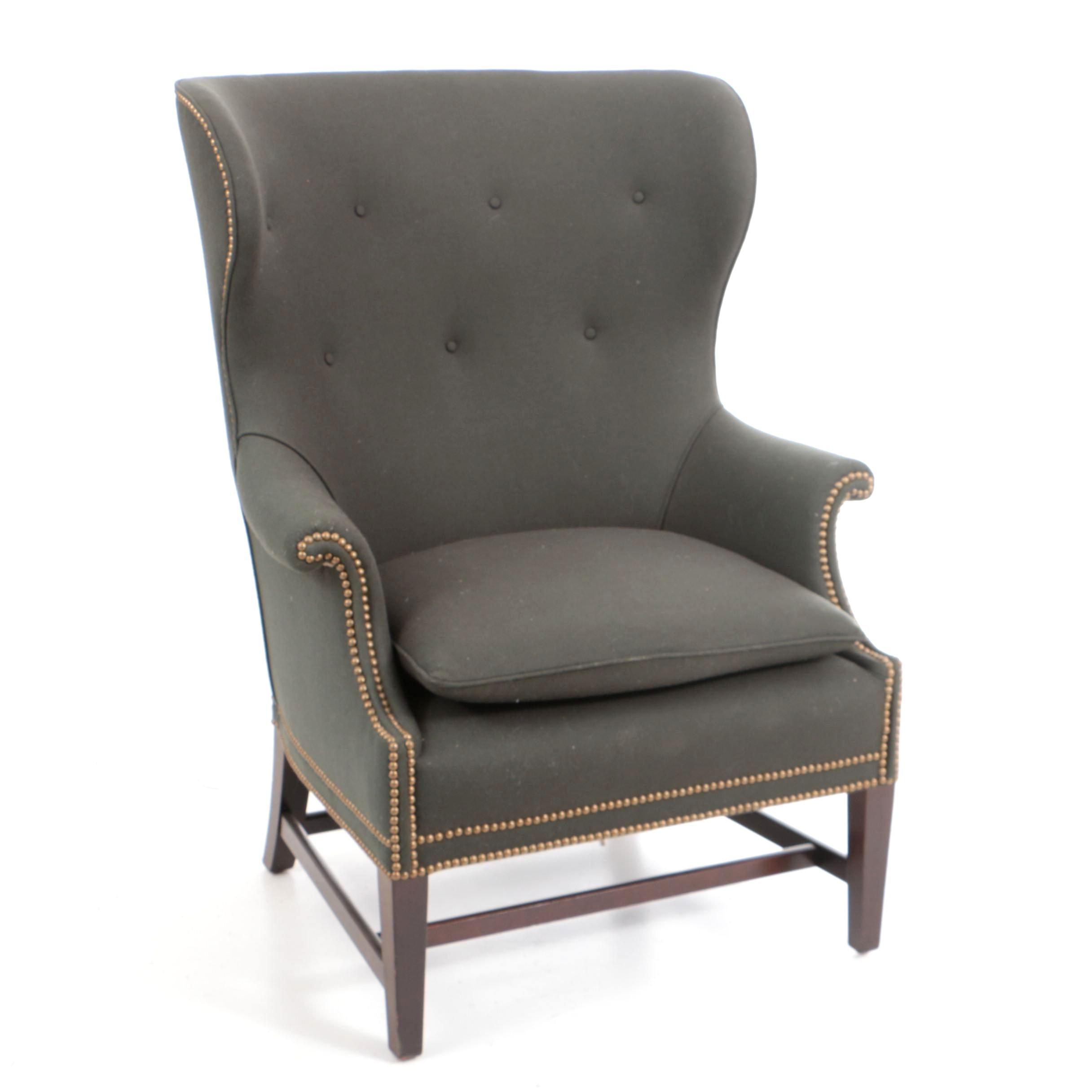 """The James"" Bespoke Wing Chair by Victoria Hagan"