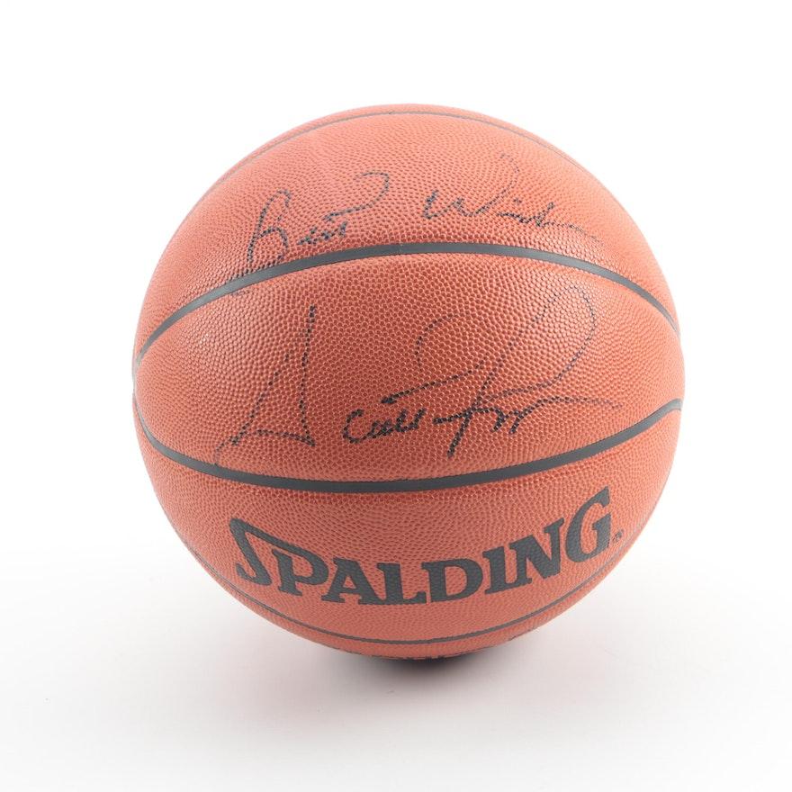 7a47ebf4e40af Scottie Pippen Autographed Basketball